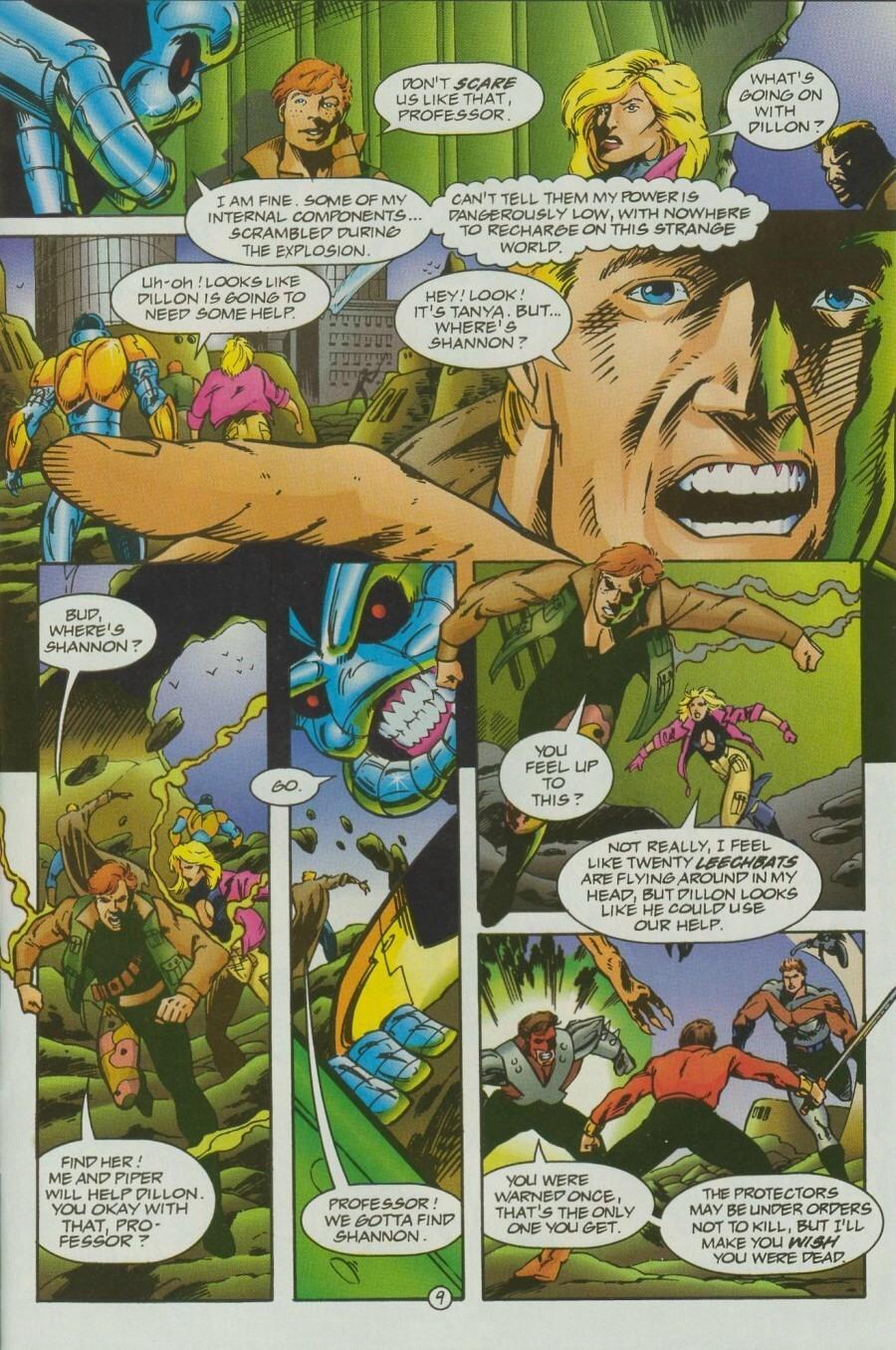 Read online Ex-Mutants comic -  Issue #12 - 12