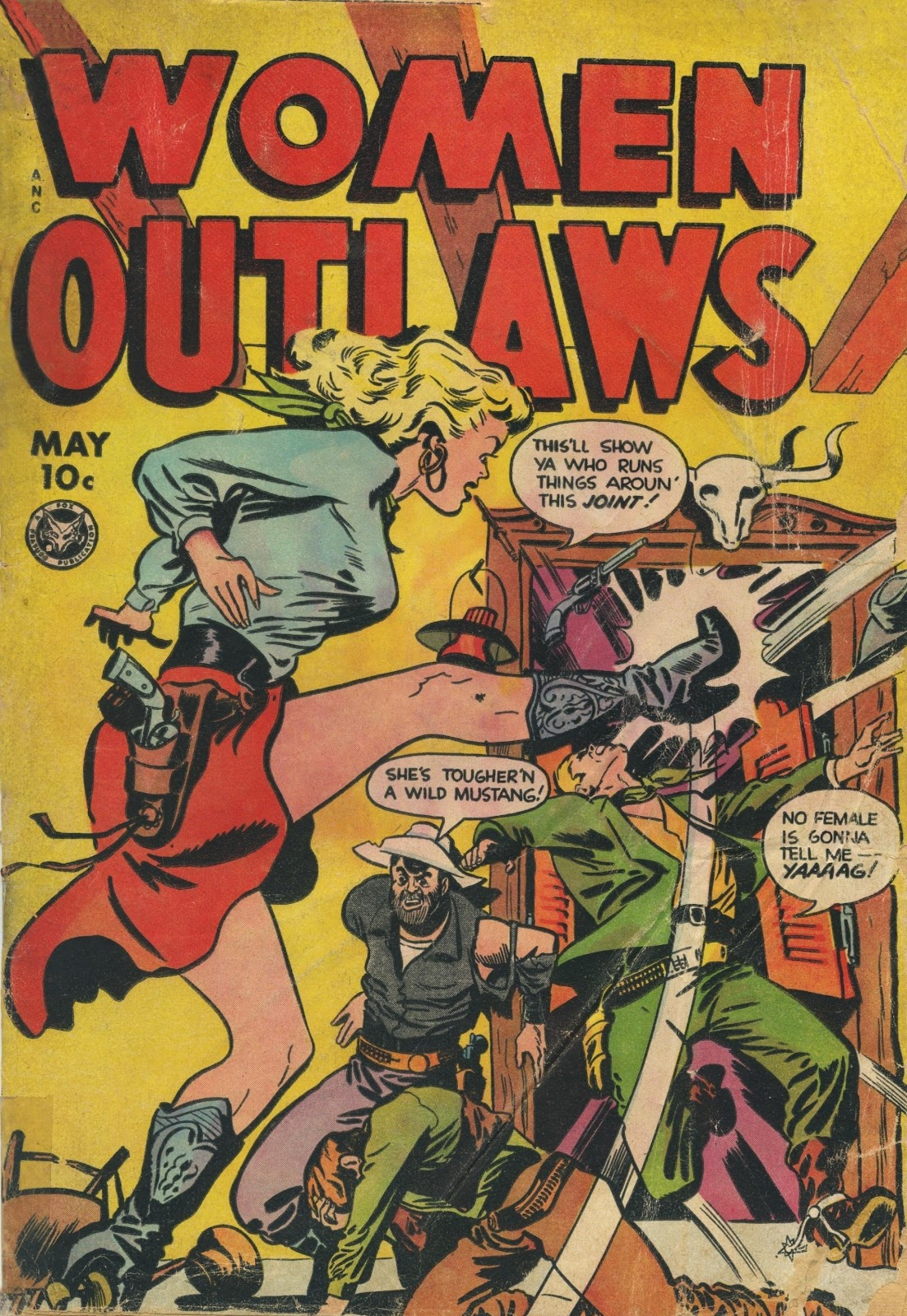 Read online Women Outlaws comic -  Issue #6 - 1
