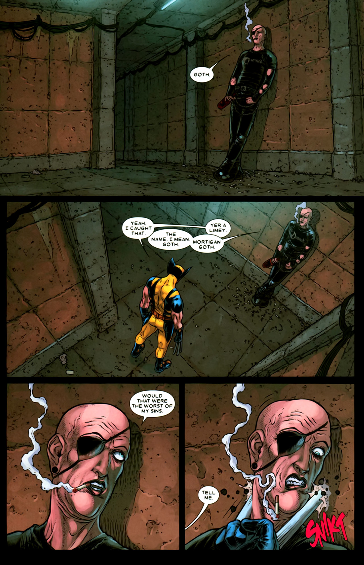 Read online Wolverine: The Best There Is comic -  Issue #2 - 17