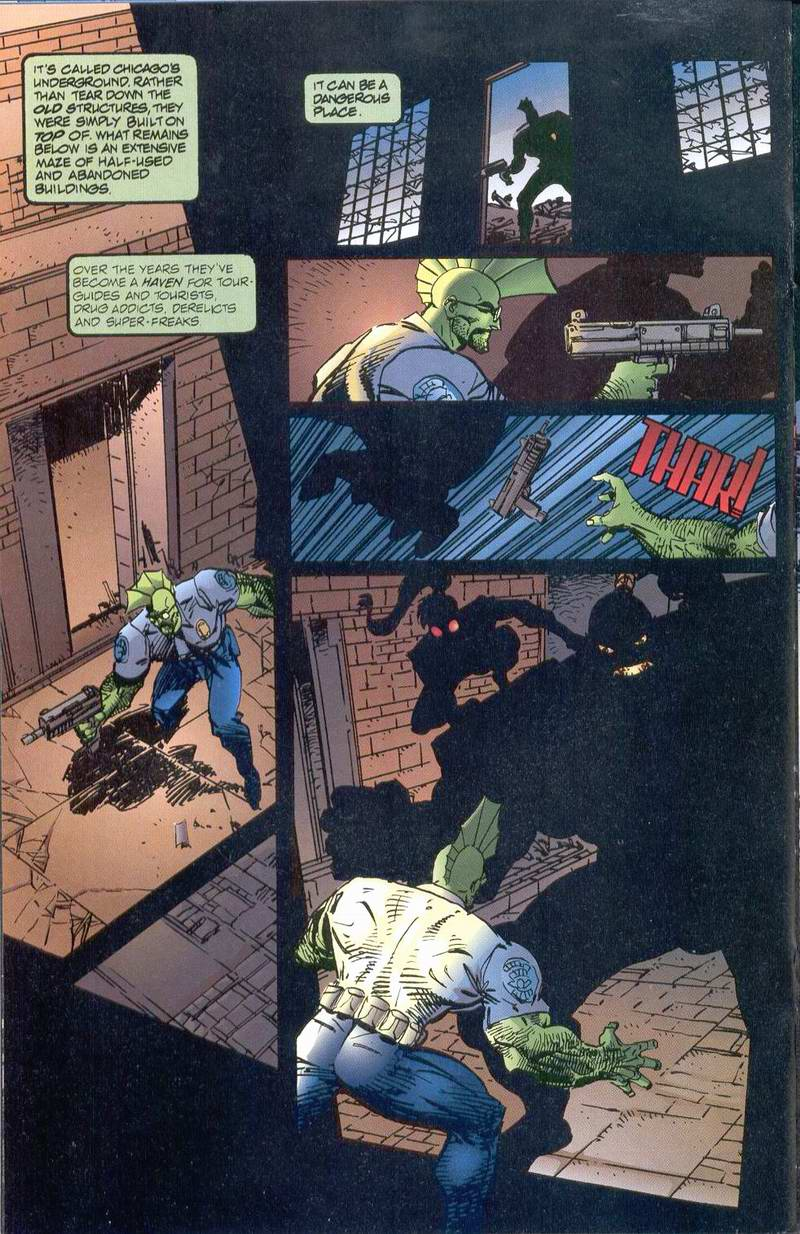The Savage Dragon (1993) Issue #1 #3 - English 22