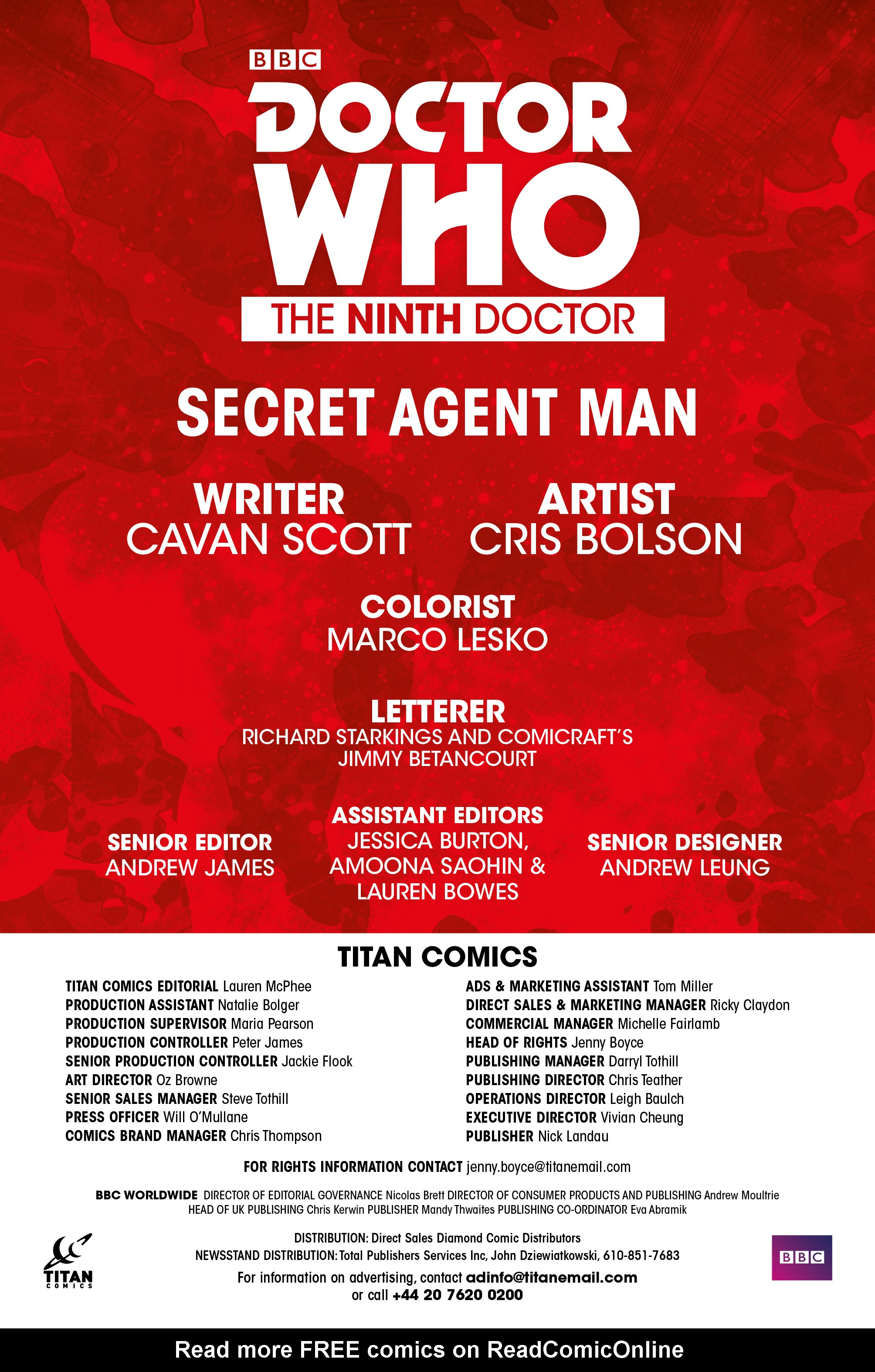 Read online Doctor Who: The Ninth Doctor (2016) comic -  Issue #13 - 24