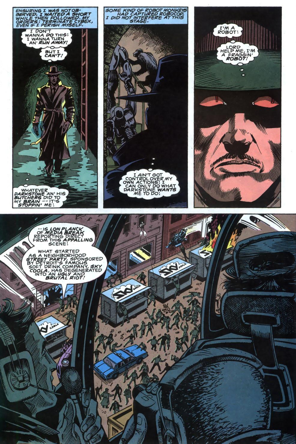 Read online Robocop (1990) comic -  Issue #4 - 7