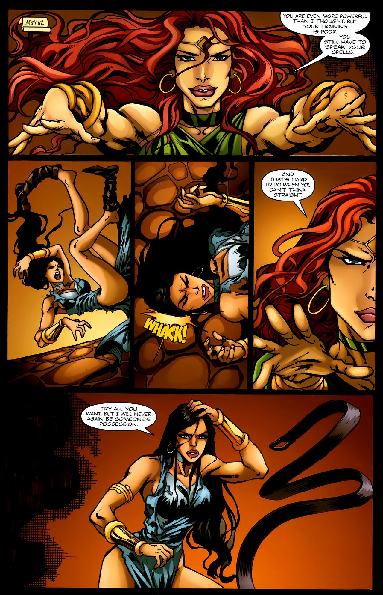 Read online 1001 Arabian Nights: The Adventures of Sinbad comic -  Issue #4 - 18