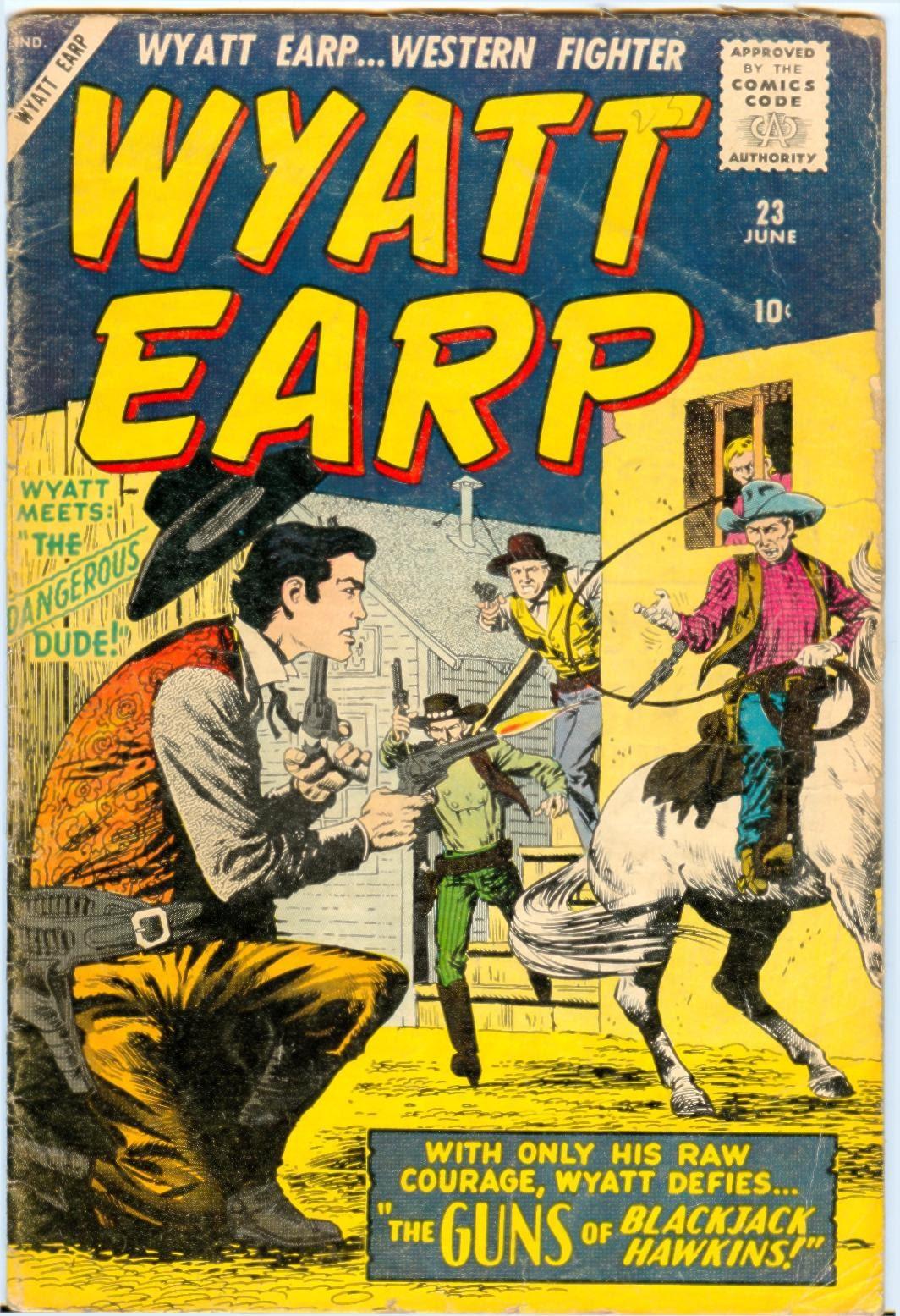 Wyatt Earp issue 23 - Page 1