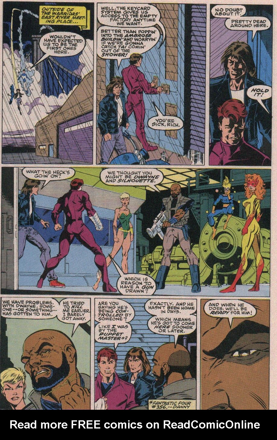 The New Warriors Issue #18 #22 - English 18