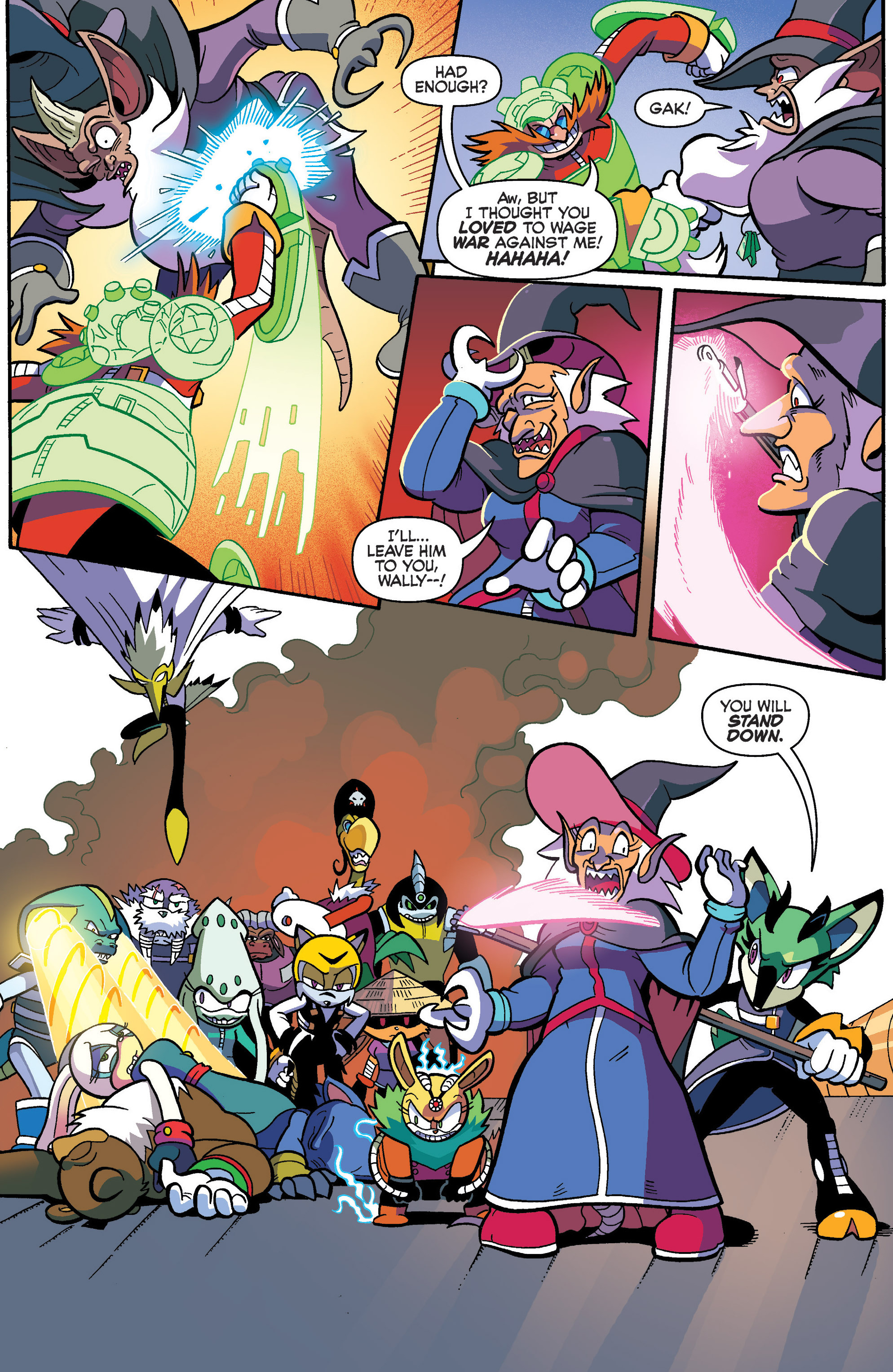 Read online Sonic Universe comic -  Issue #86 - 10