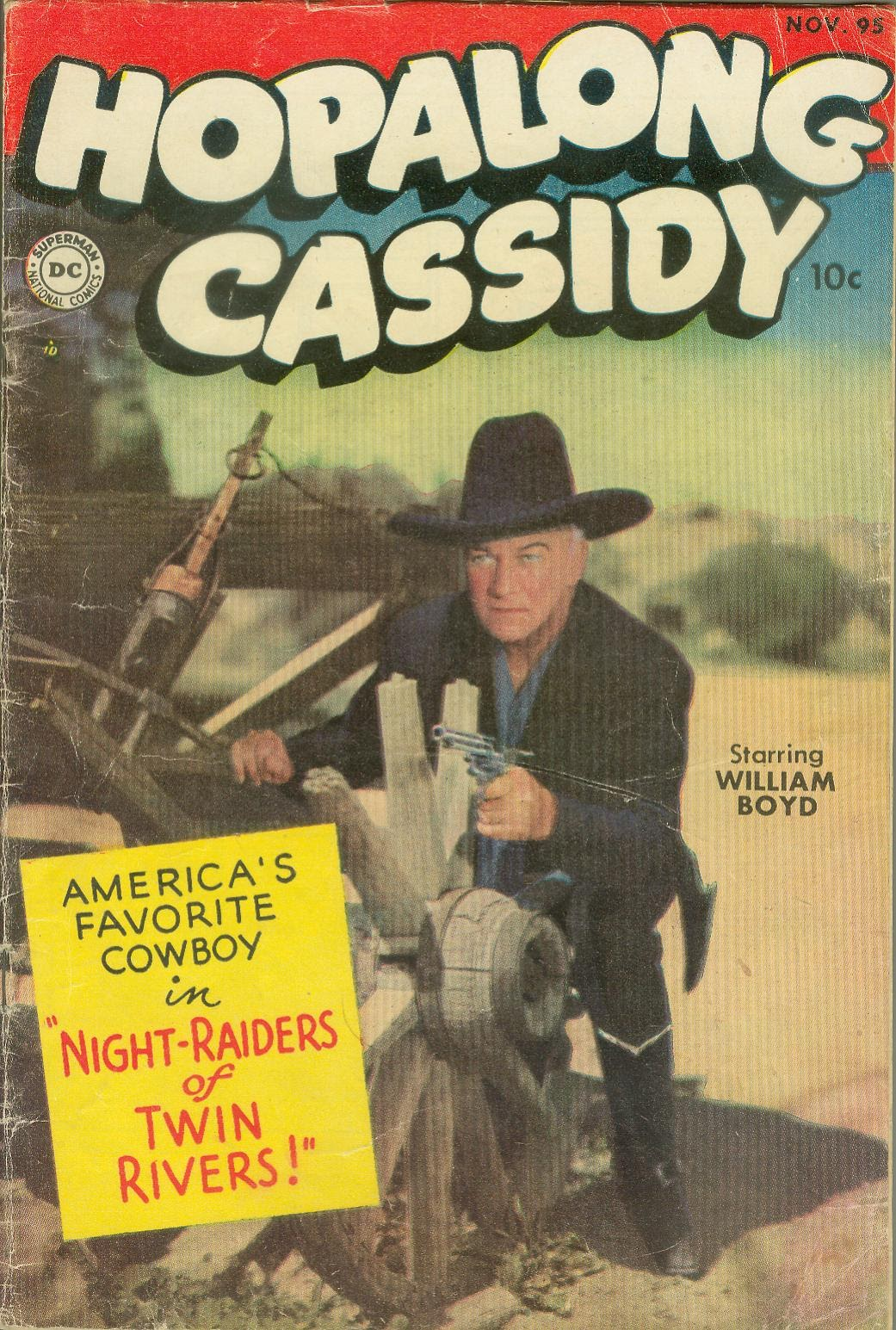 Hopalong Cassidy issue 95 - Page 1
