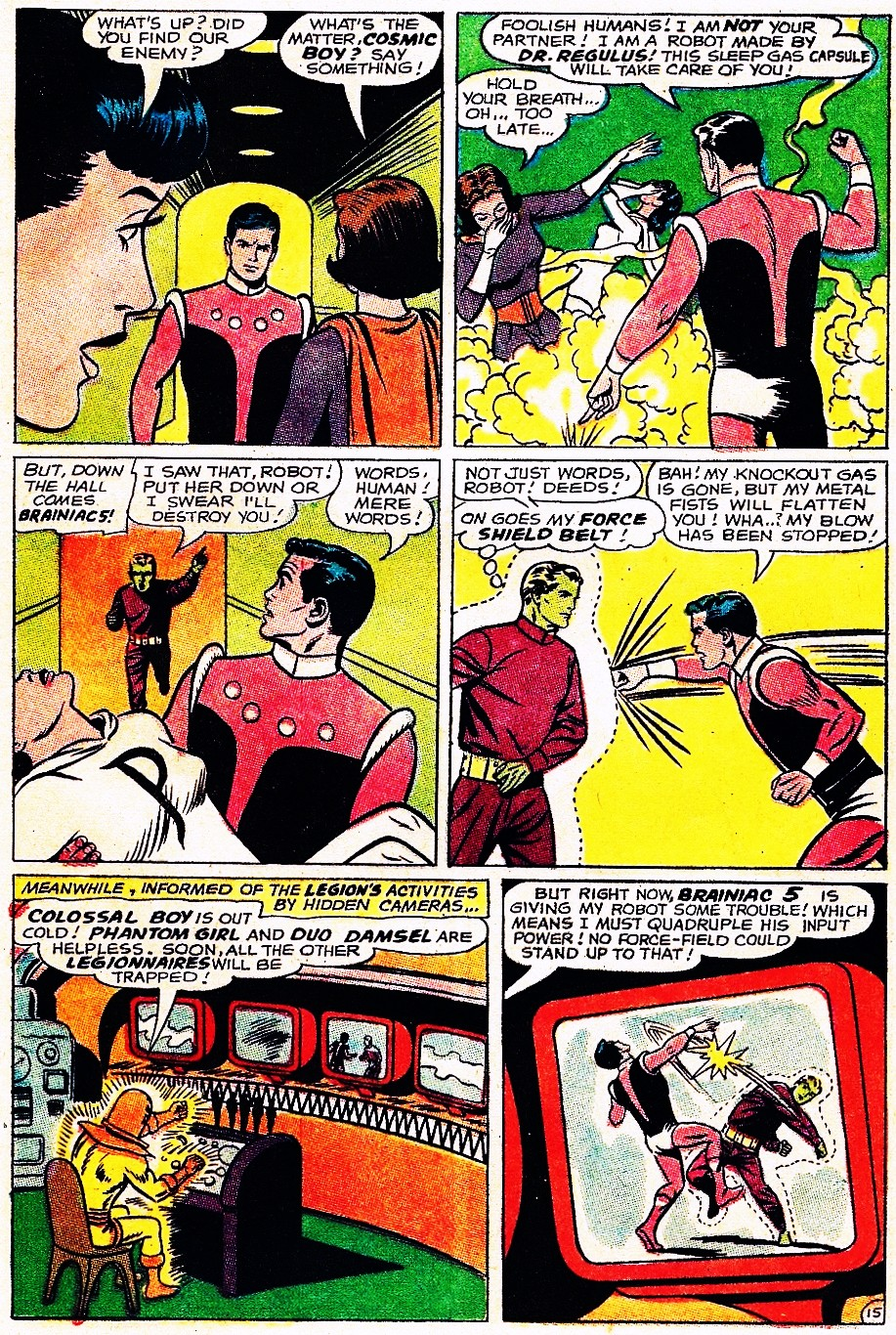 Read online Adventure Comics (1938) comic -  Issue #348 - 21