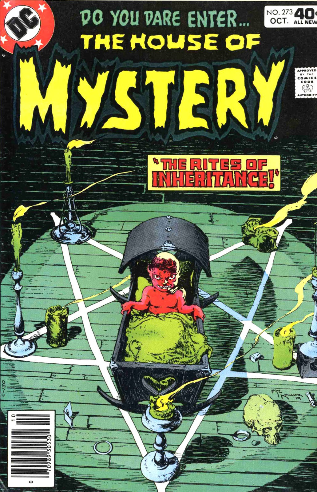 House of Mystery (1951) issue 273 - Page 1