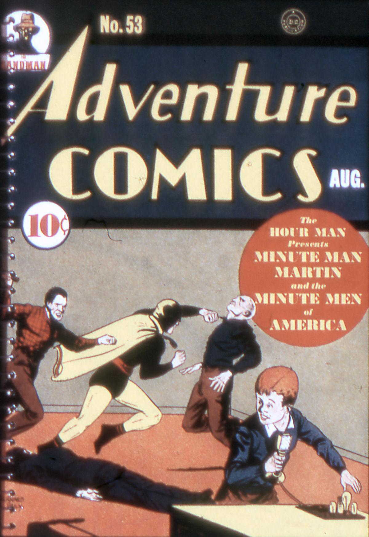 Read online Adventure Comics (1938) comic -  Issue #53 - 1