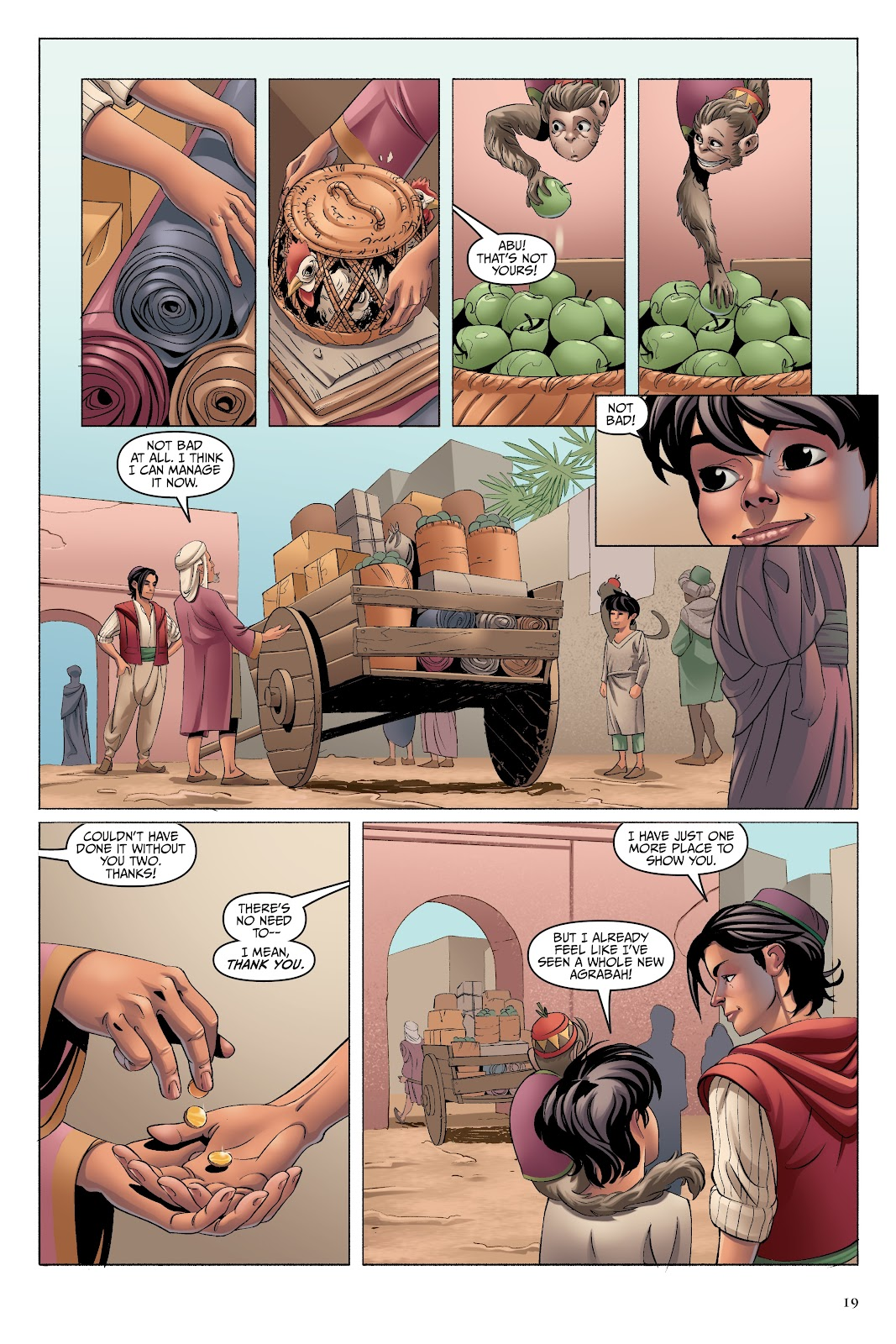 Read online Disney Aladdin: Four Tales of Agrabah comic -  Issue # TPB - 19