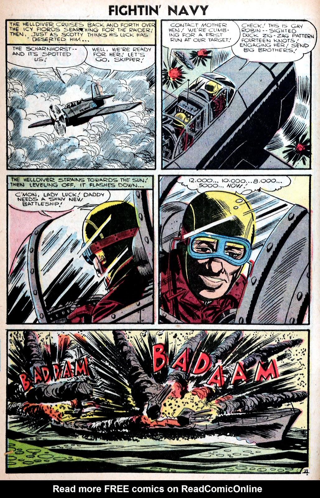 Read online Fightin' Navy comic -  Issue #75 - 4