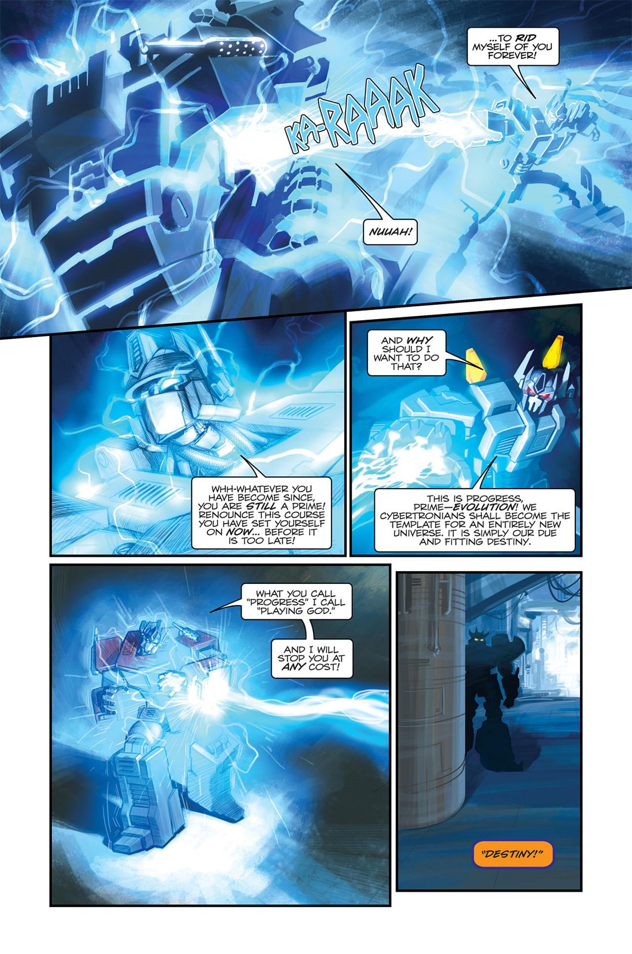 Read online Transformers Spotlight: Sideswipe comic -  Issue # Full - 14