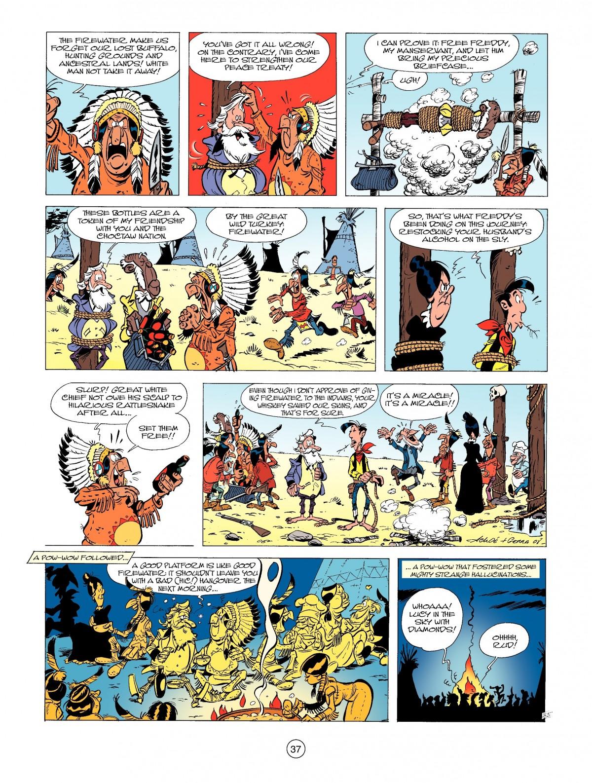 Read online A Lucky Luke Adventure comic -  Issue #39 - 37