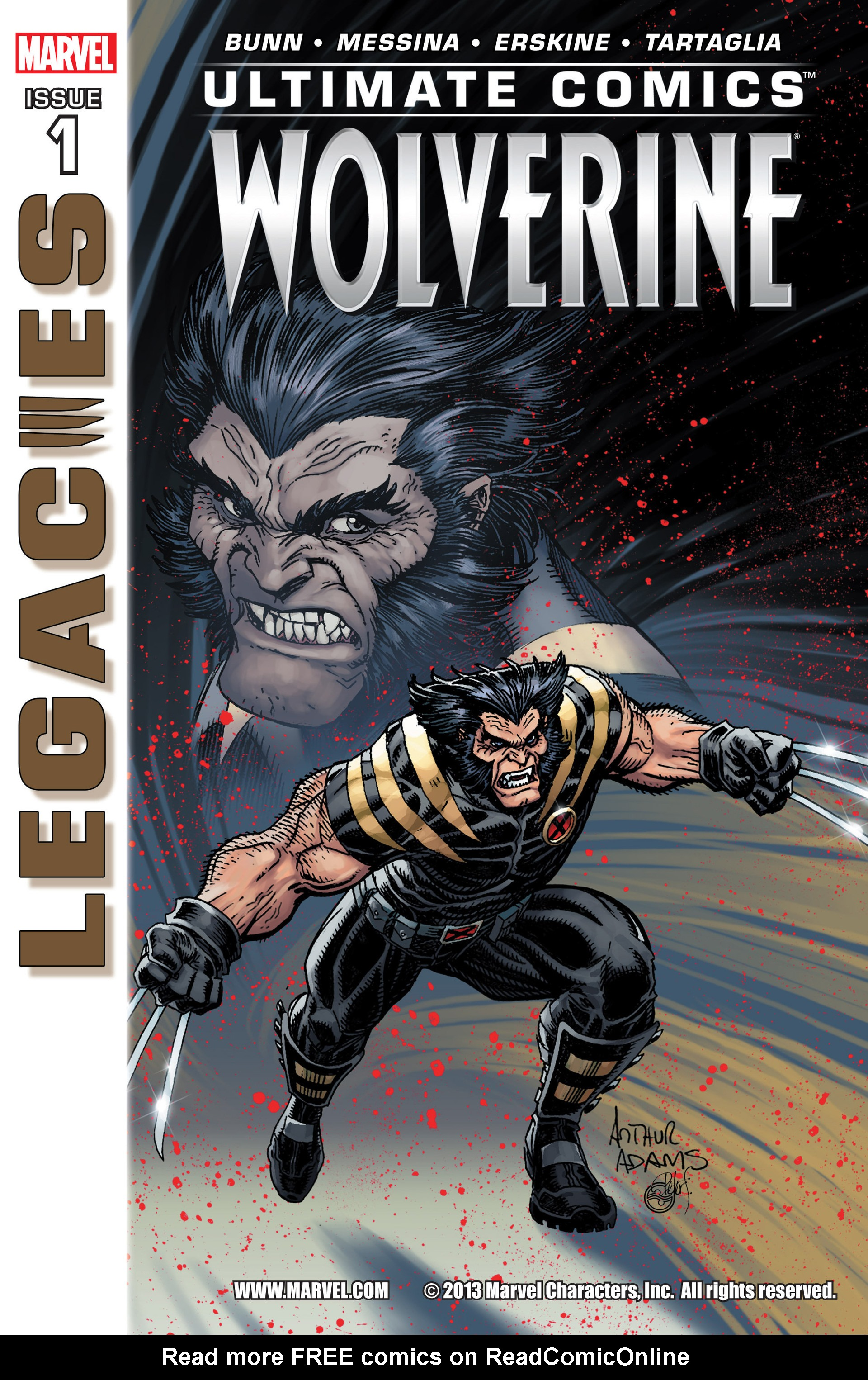 Read online Ultimate Comics Wolverine comic -  Issue #1 - 1