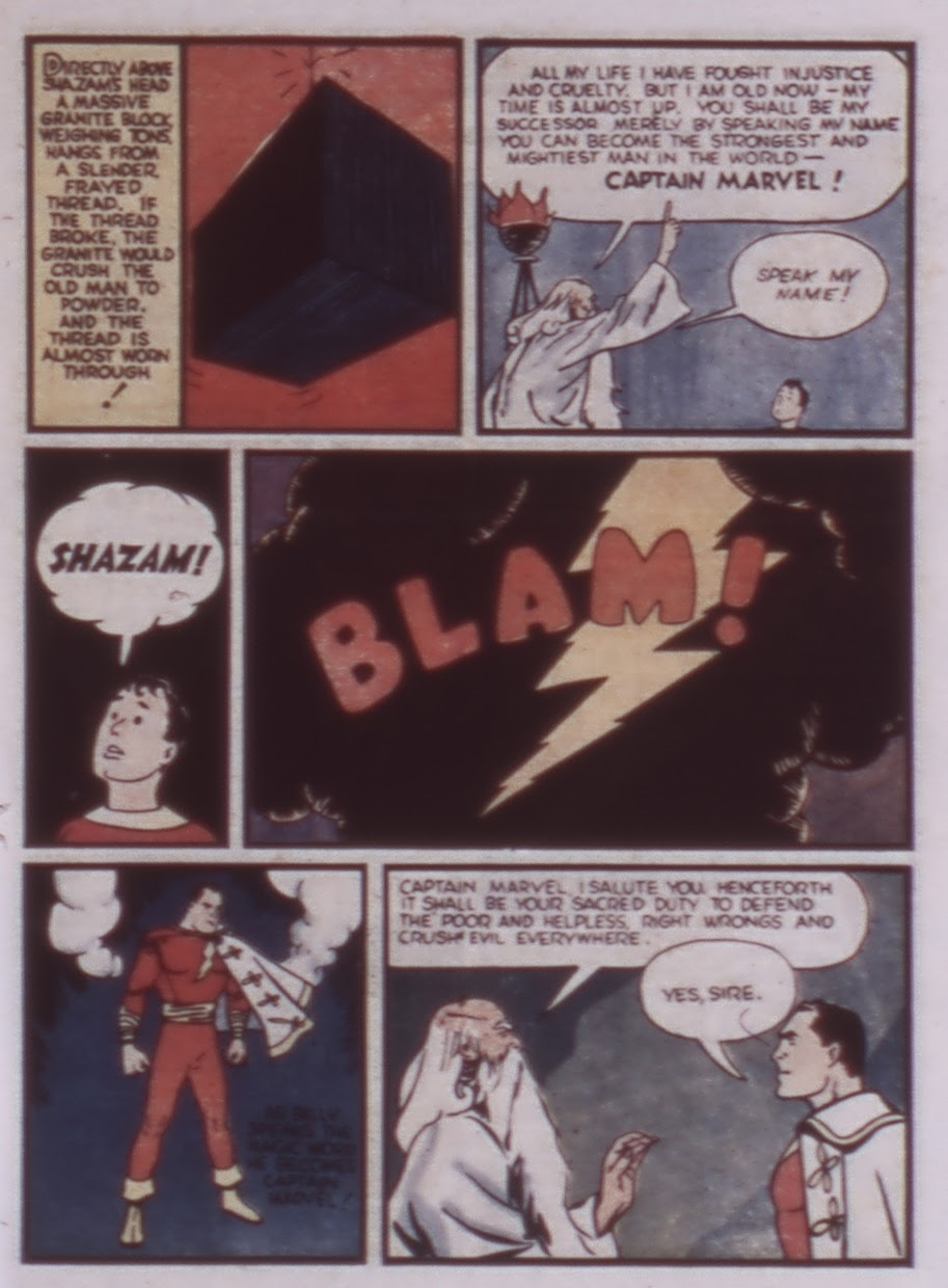 Read online WHIZ Comics comic -  Issue #1 - 7