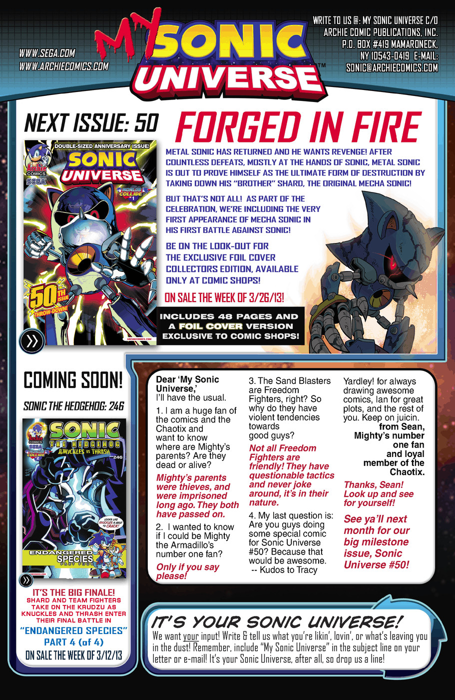 Read online Sonic Universe comic -  Issue #49 - 25