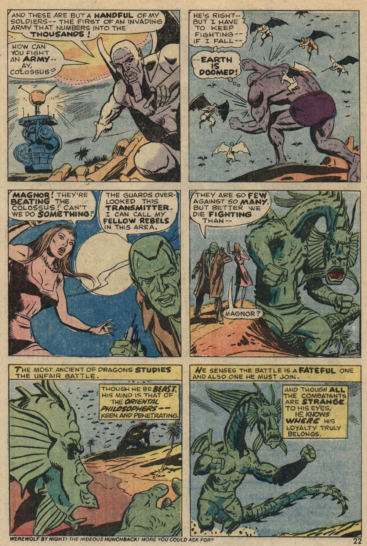 Read online Astonishing Tales (1970) comic -  Issue #23 - 15