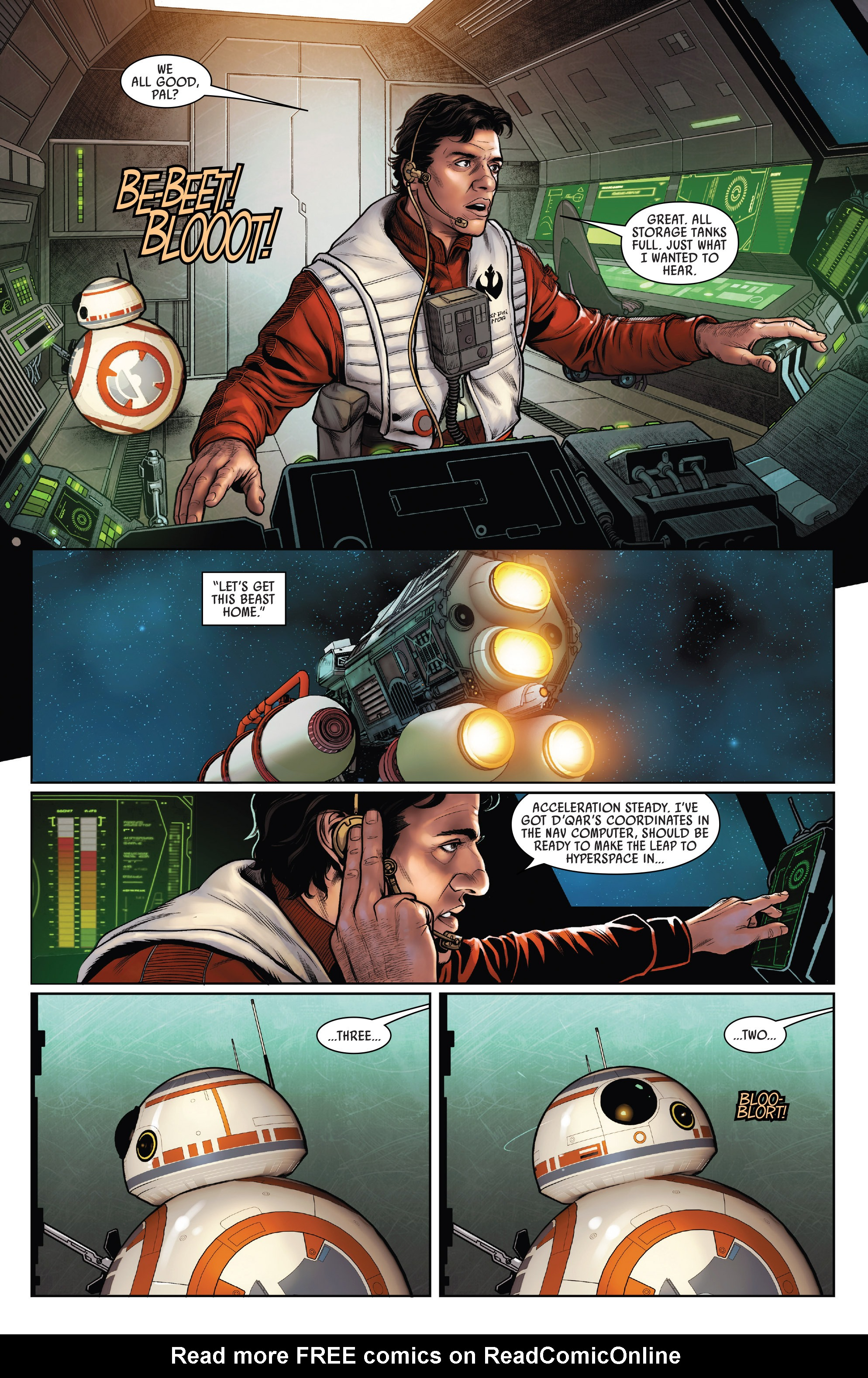 Read online Star Wars: Poe Dameron comic -  Issue #15 - 14