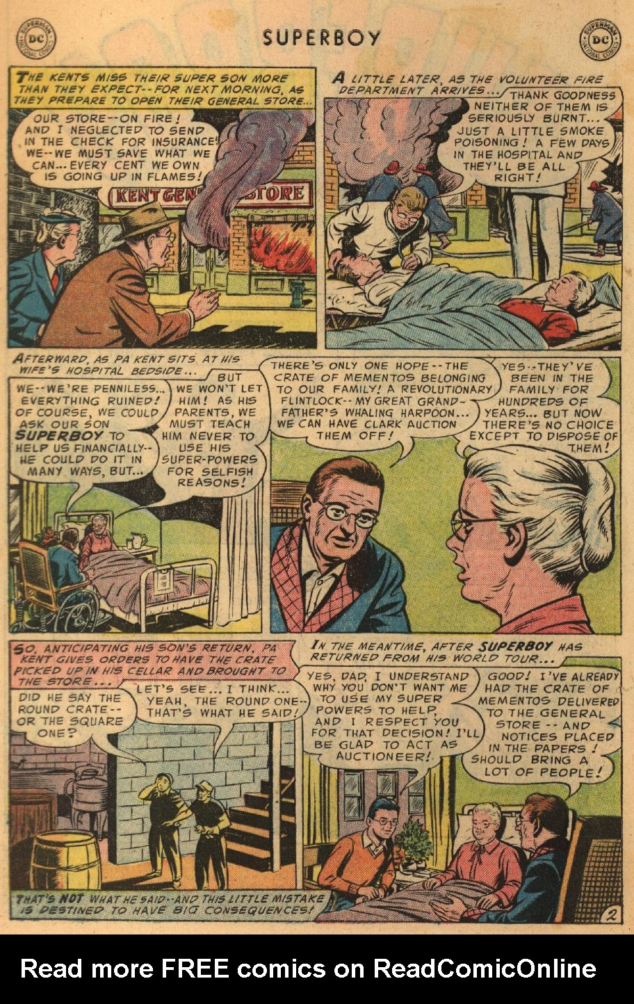 Superboy (1949) issue 45 - Page 3