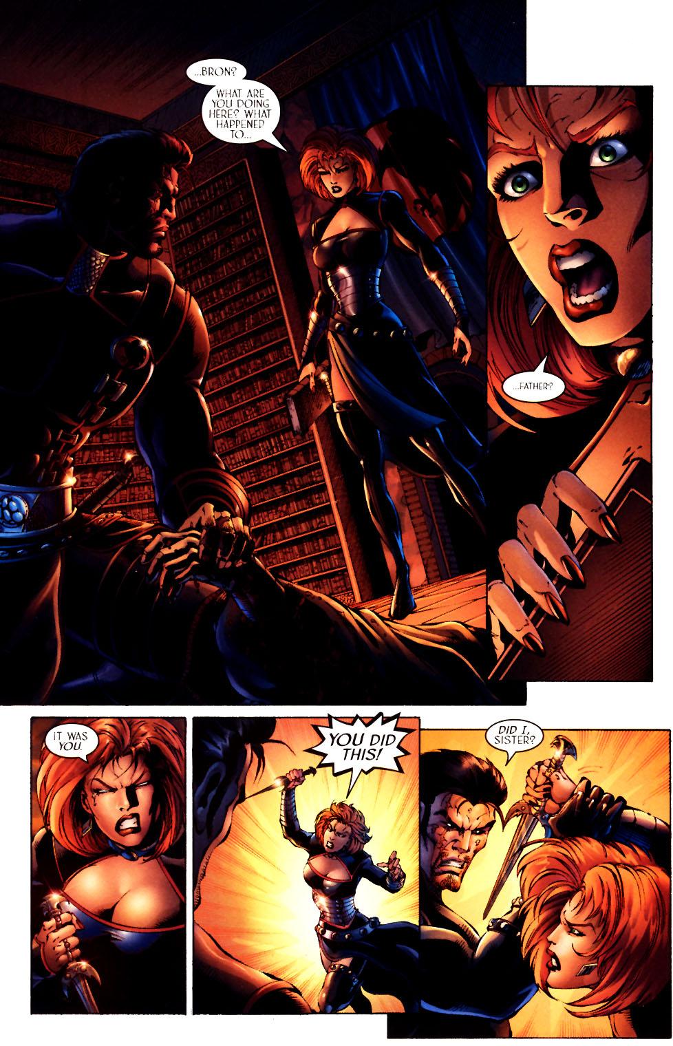 Read online Scion comic -  Issue #12 - 14