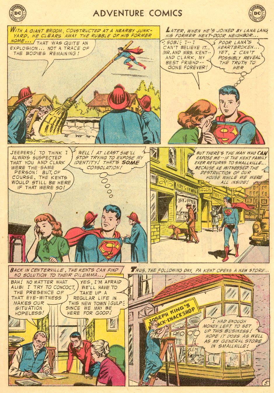 Read online Adventure Comics (1938) comic -  Issue #229 - 7