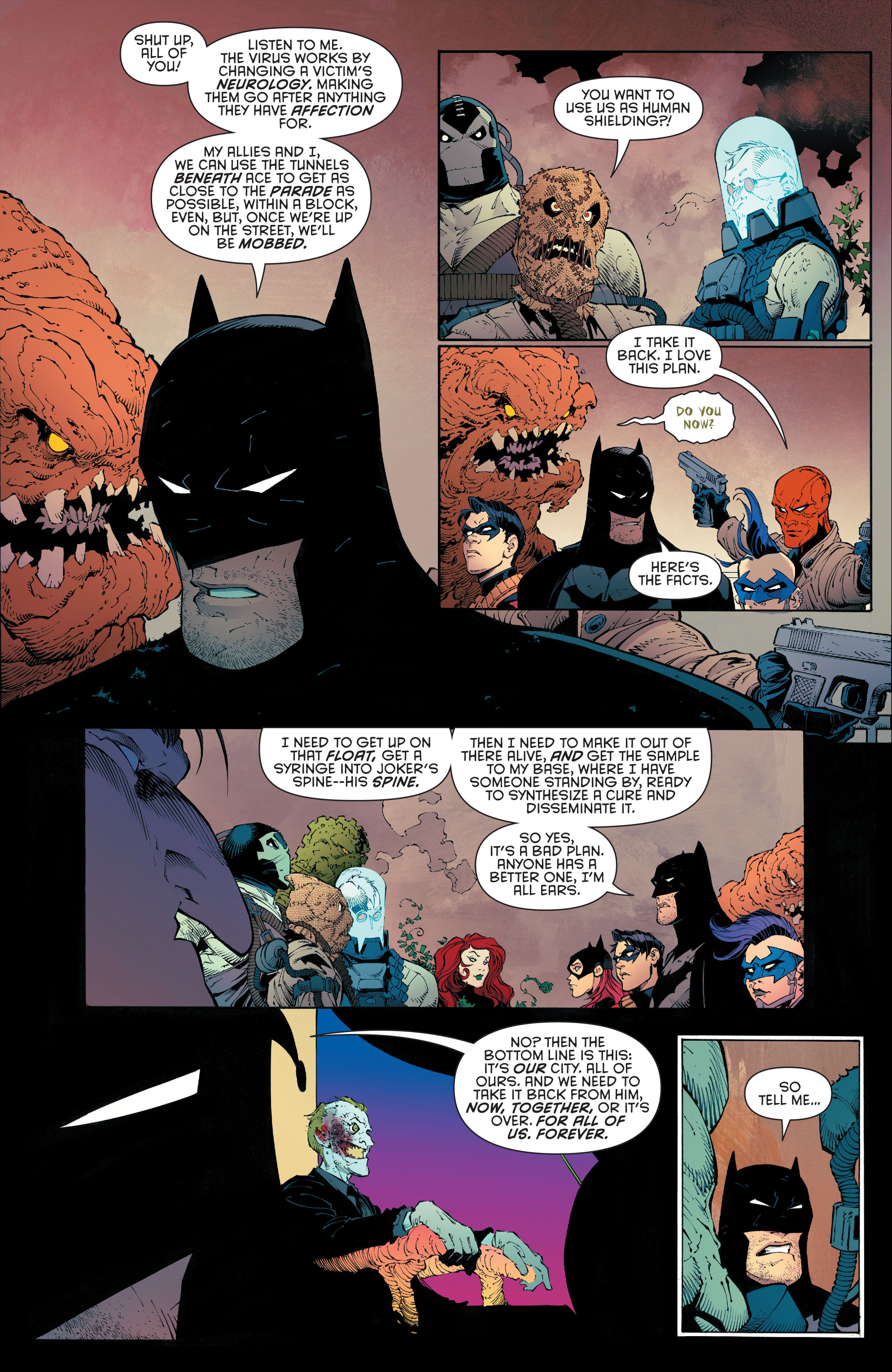 Read online Batman (2011) comic -  Issue # _TPB 7 - 120