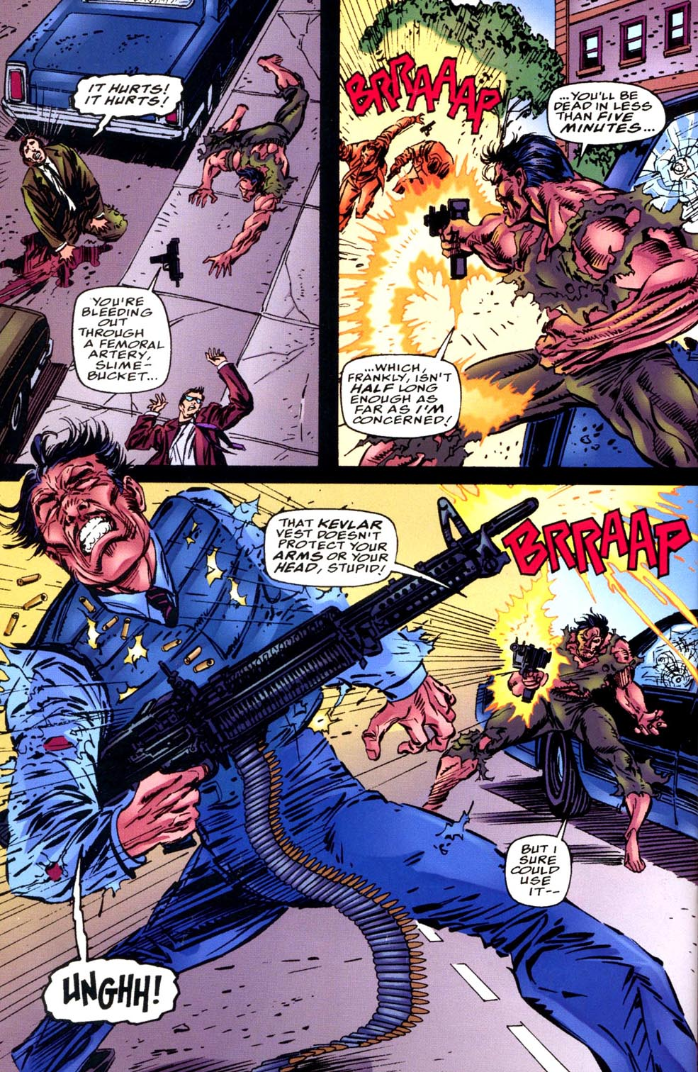 Read online Double Edge comic -  Issue # Issue Alpha - 34