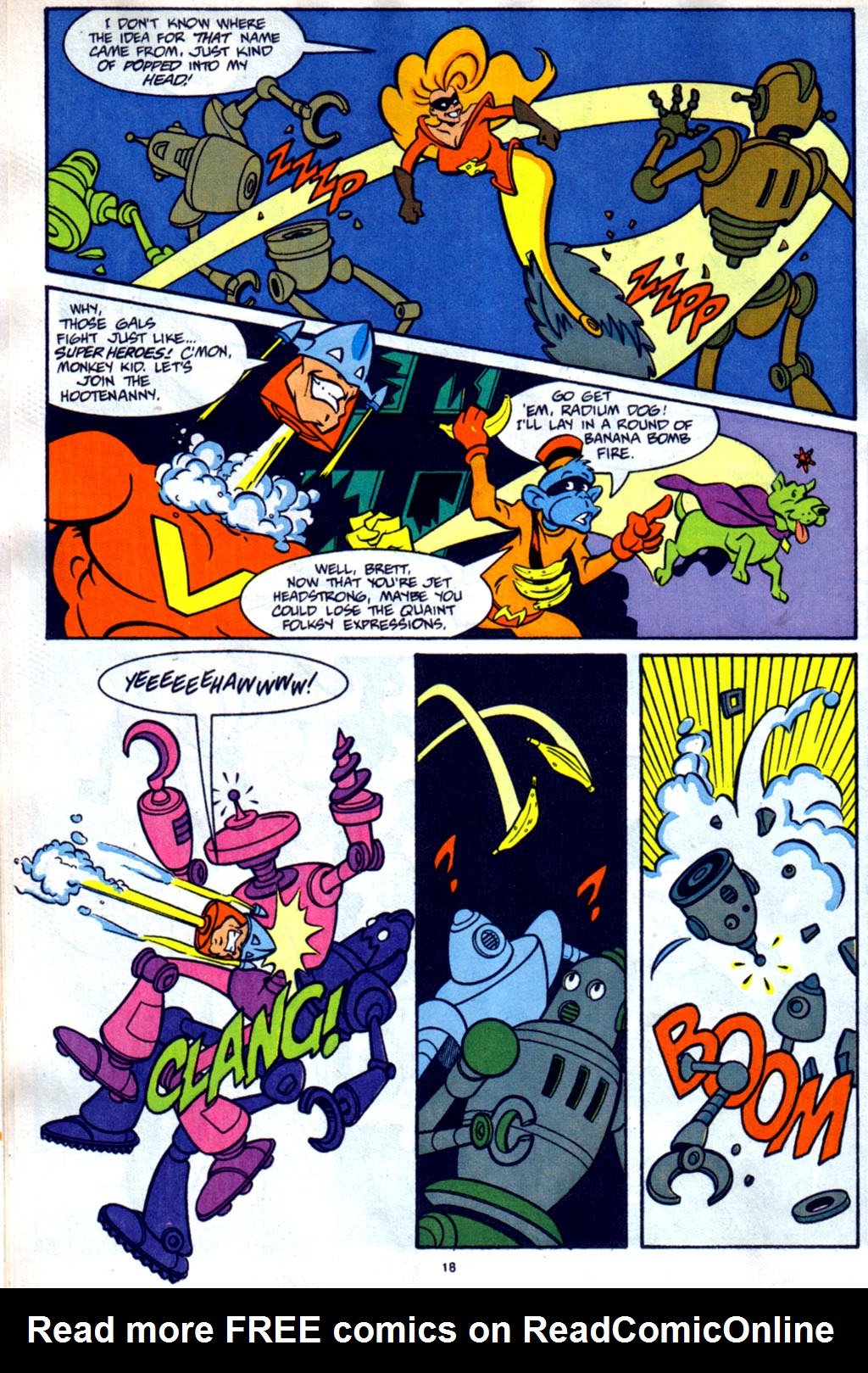 Read online Defenders of Dynatron City comic -  Issue #2 - 15