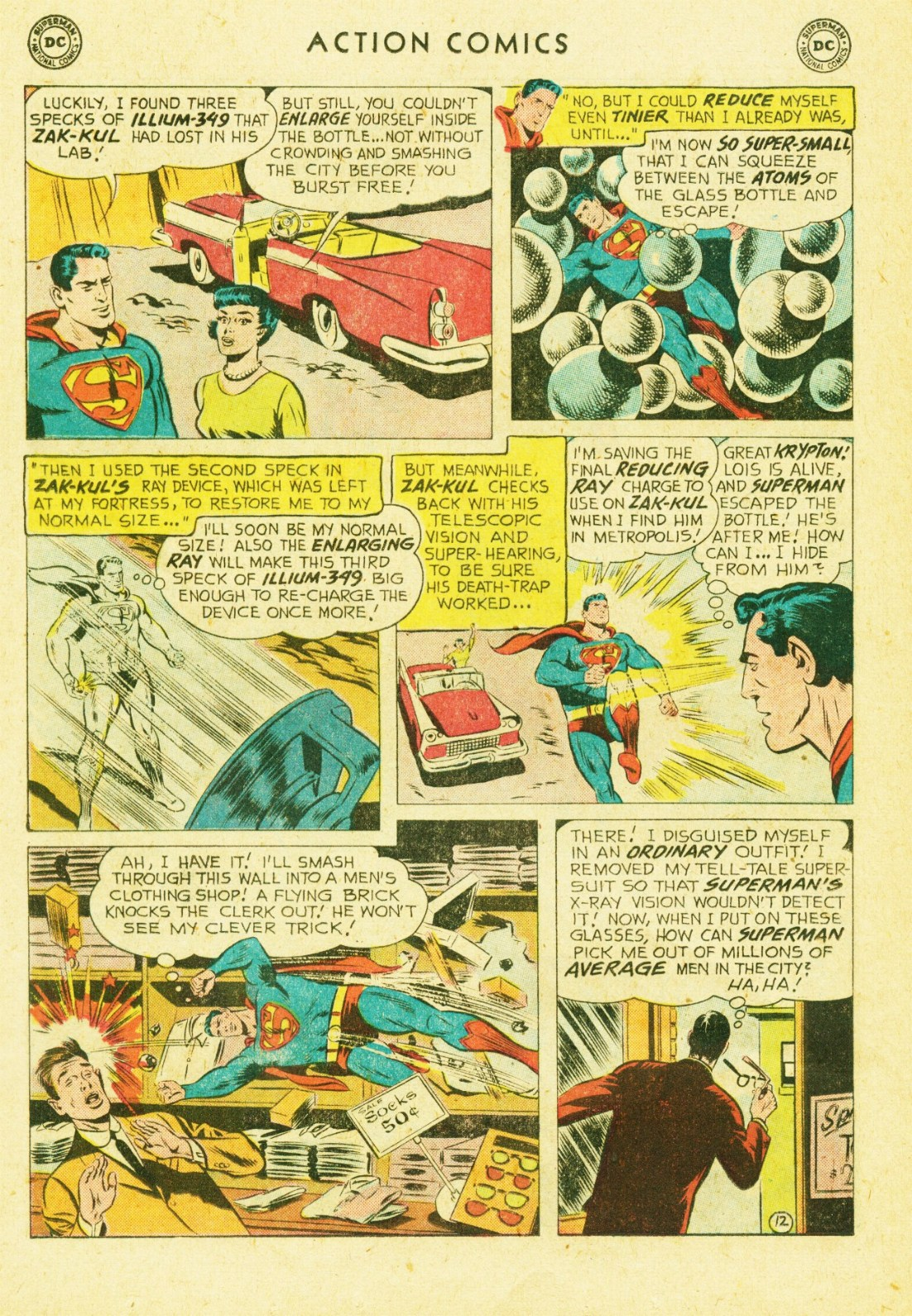 Read online Action Comics (1938) comic -  Issue #245 - 14
