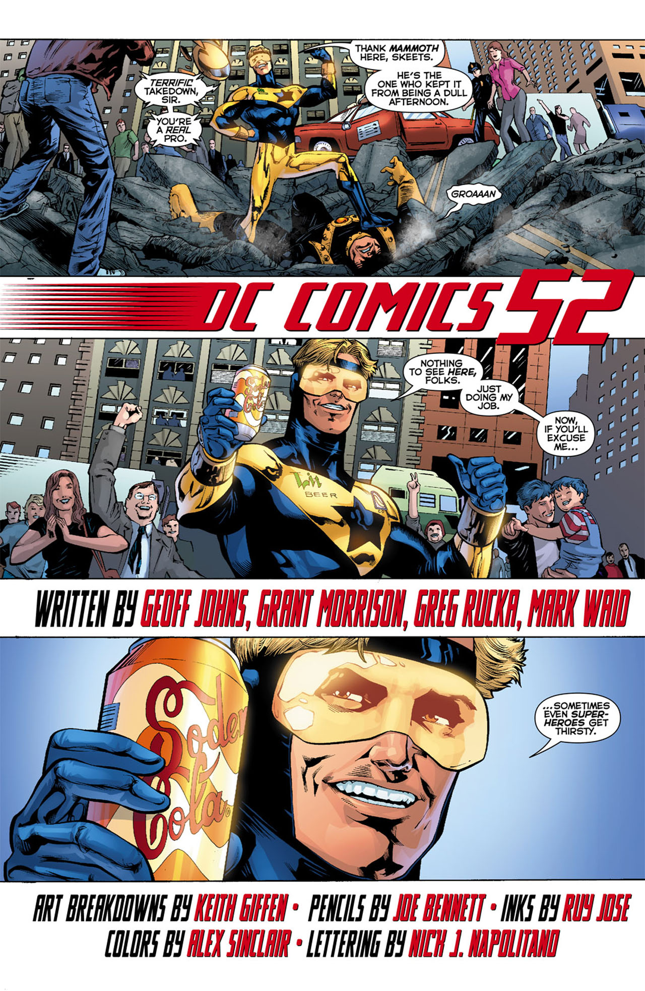 Read online 52 comic -  Issue #1 - 10