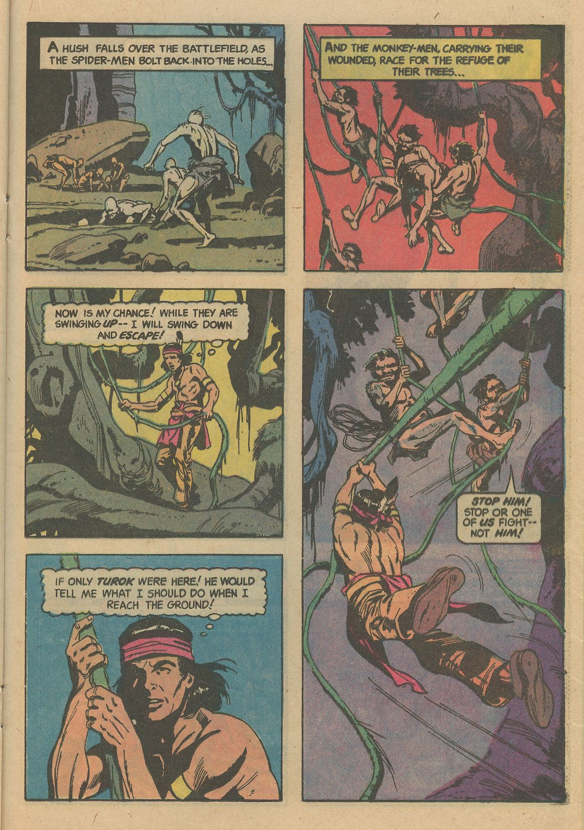 Read online Turok, Son of Stone comic -  Issue #128 - 21