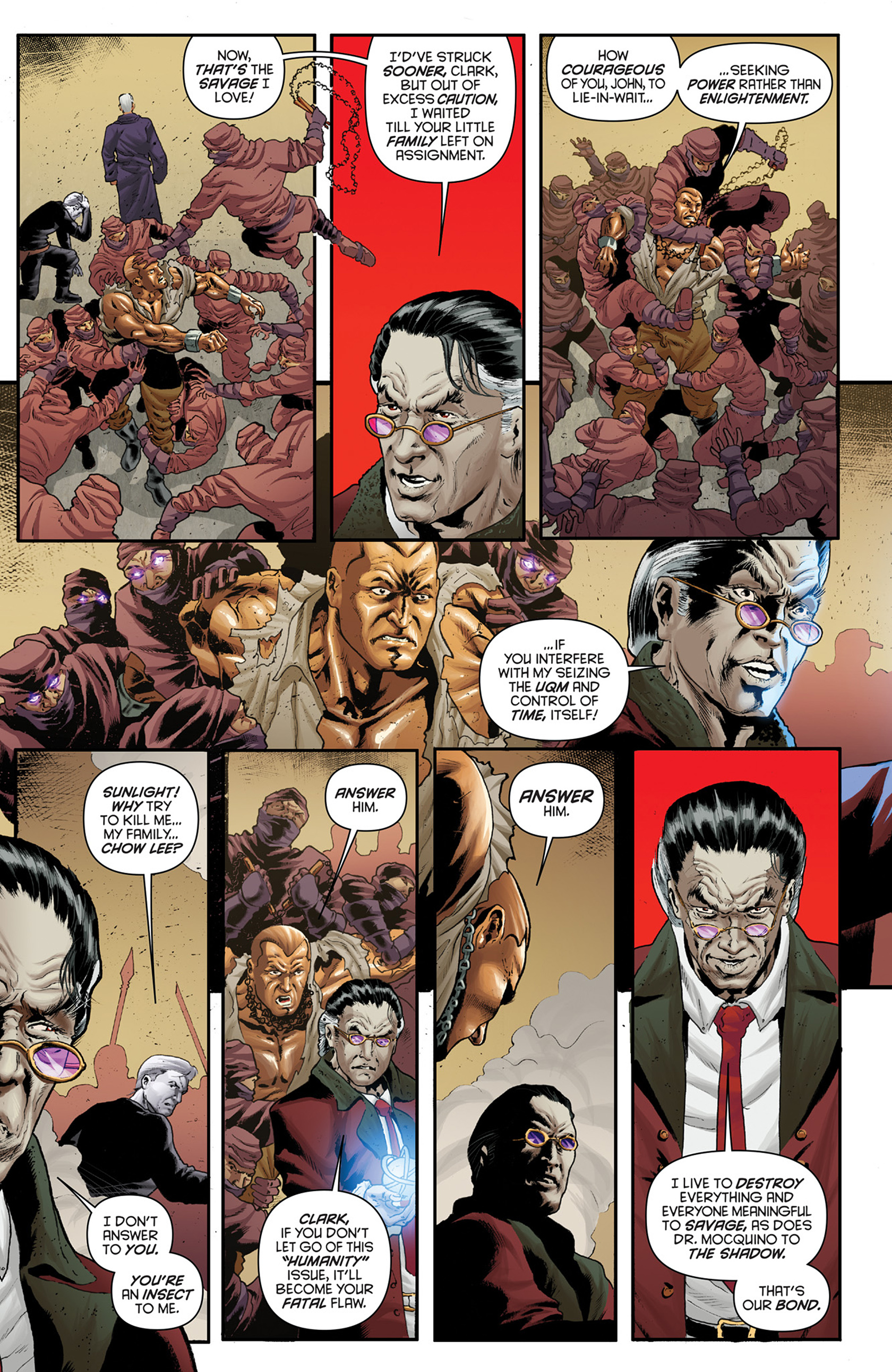 Read online Justice, Inc. comic -  Issue #4 - 9