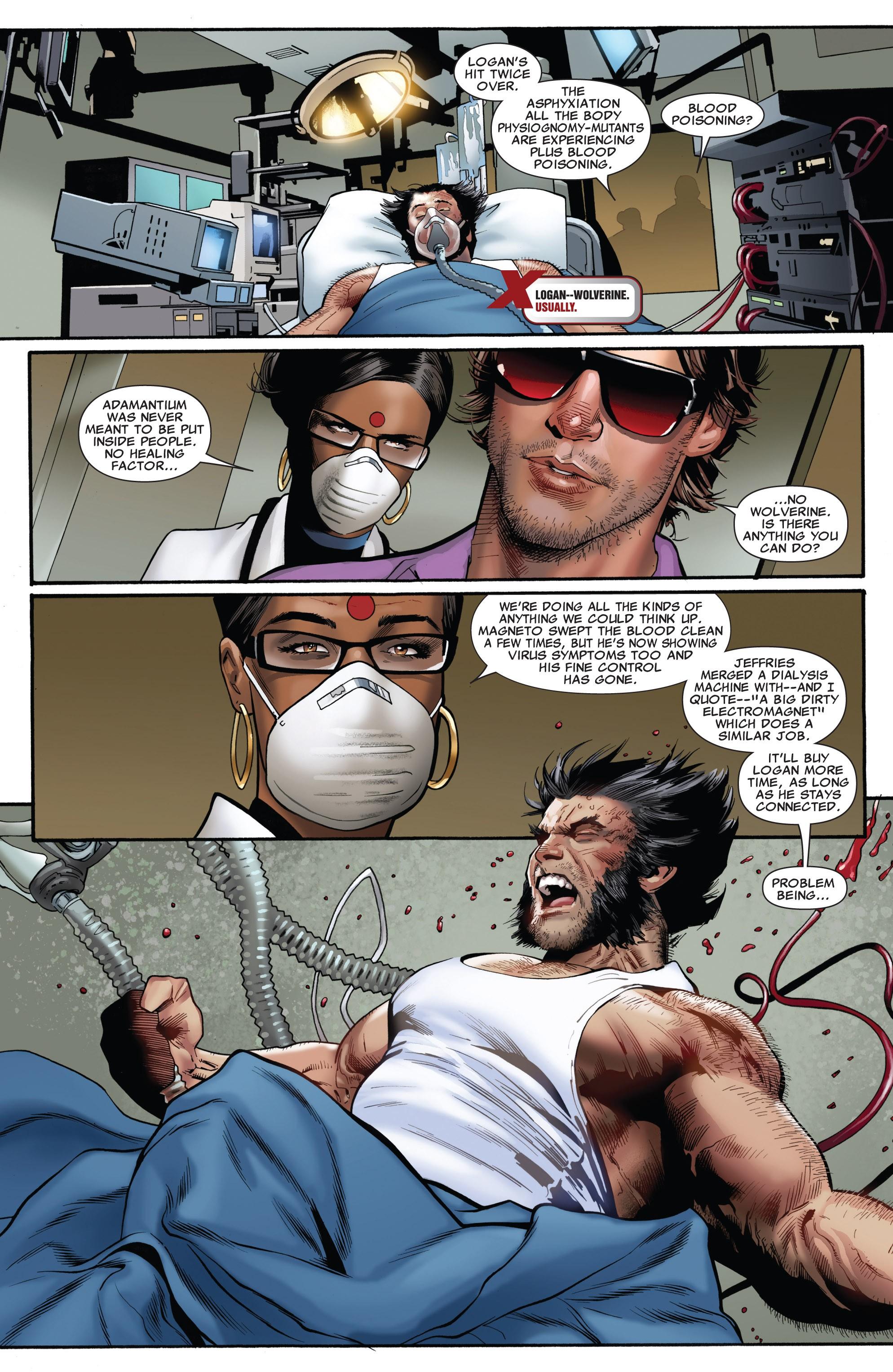 Read online Uncanny X-Men (1963) comic -  Issue #531 - 7