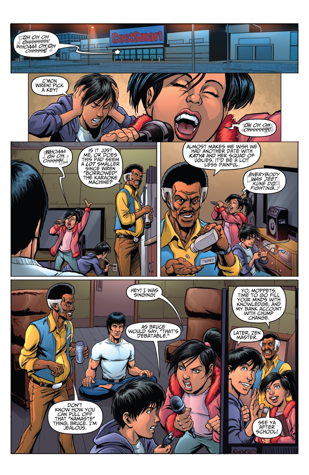 Bruce Lee: Walk of the Dragon issue Full - Page 3