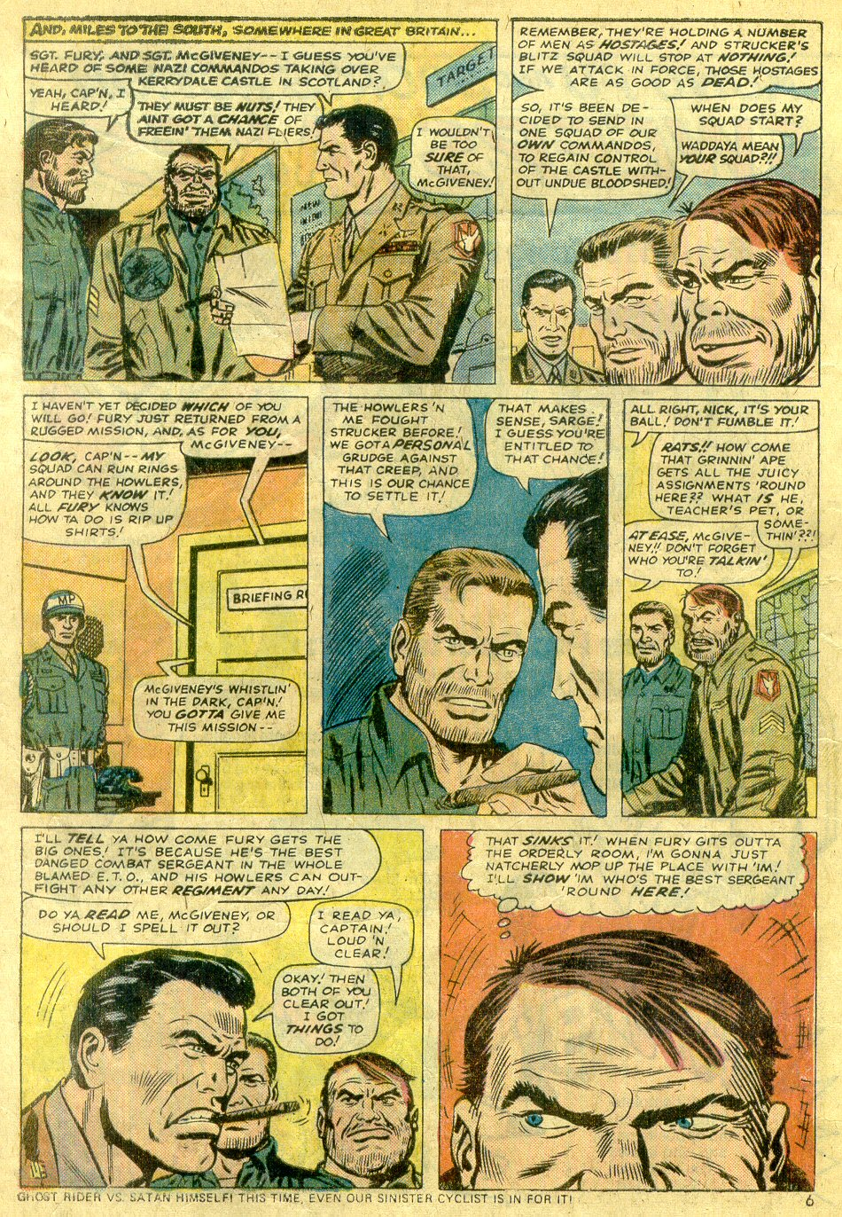 Read online Sgt. Fury comic -  Issue #122 - 8
