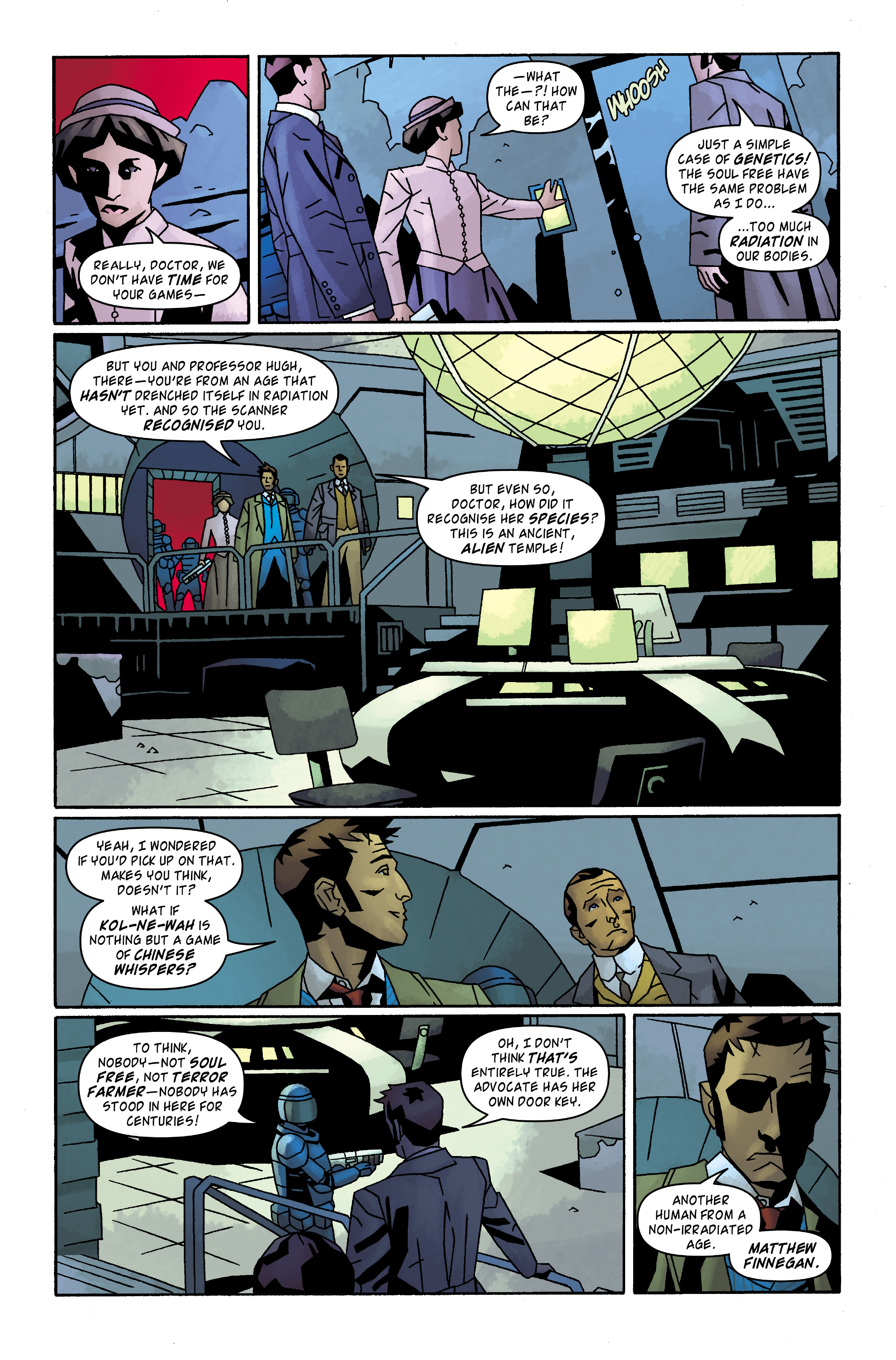 Read online Doctor Who: The Tenth Doctor Archives comic -  Issue #32 - 11