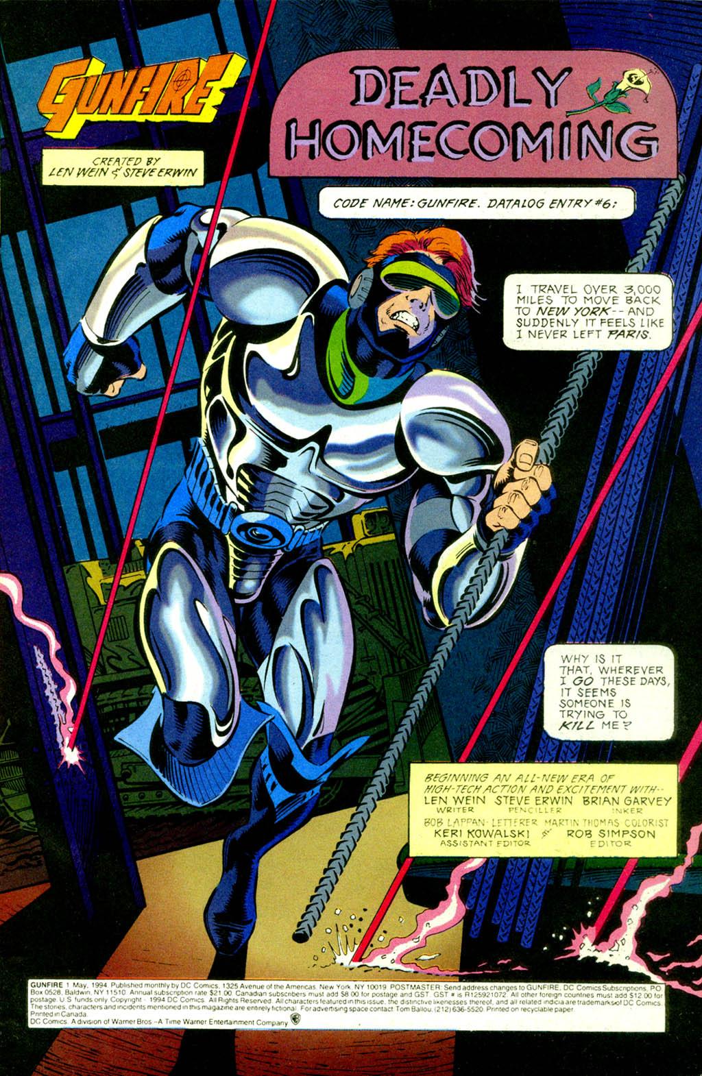 Read online Gunfire comic -  Issue #1 - 3