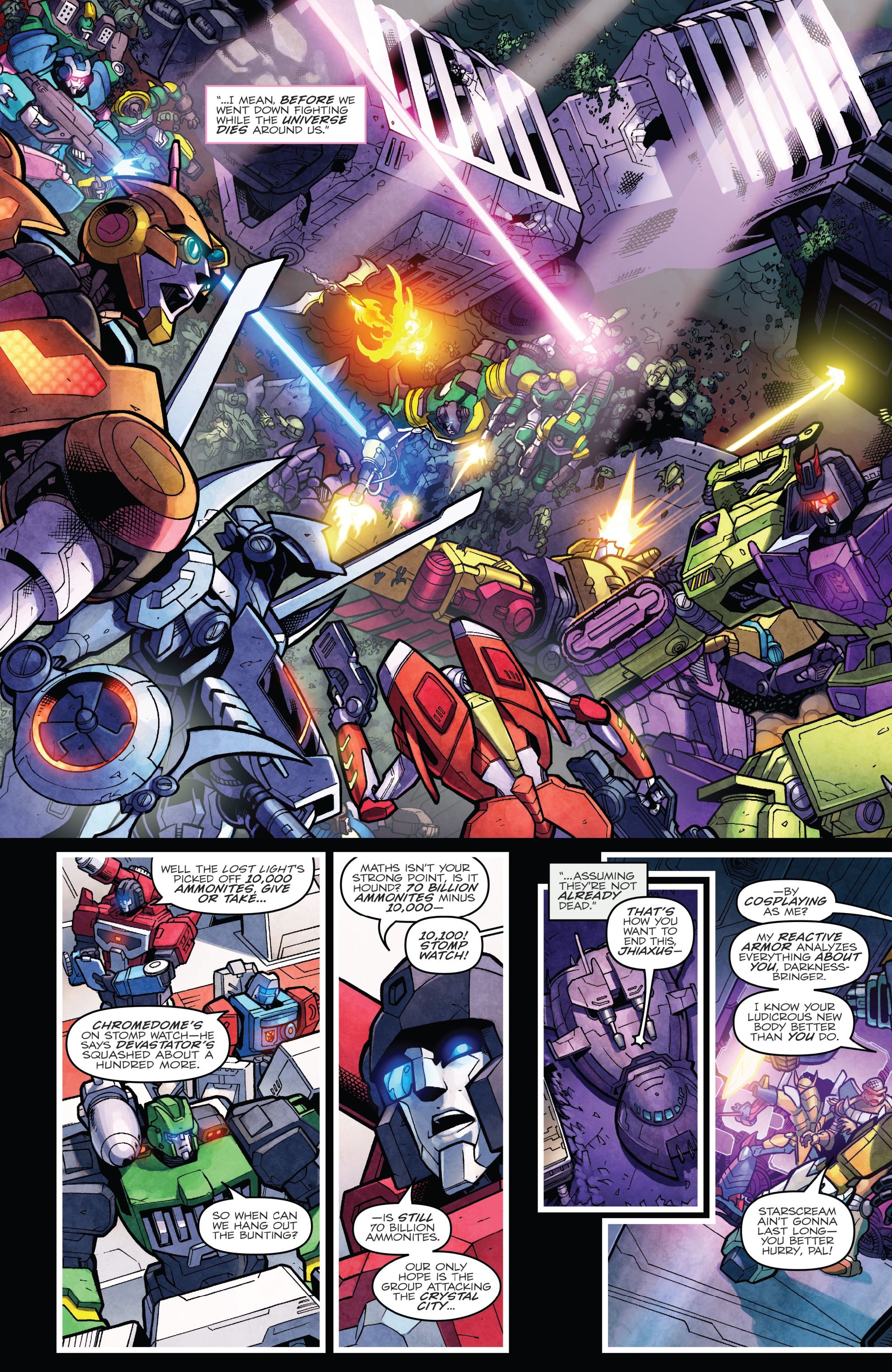 Read online The Transformers: Dark Cybertron Finale comic -  Issue # Full - 127