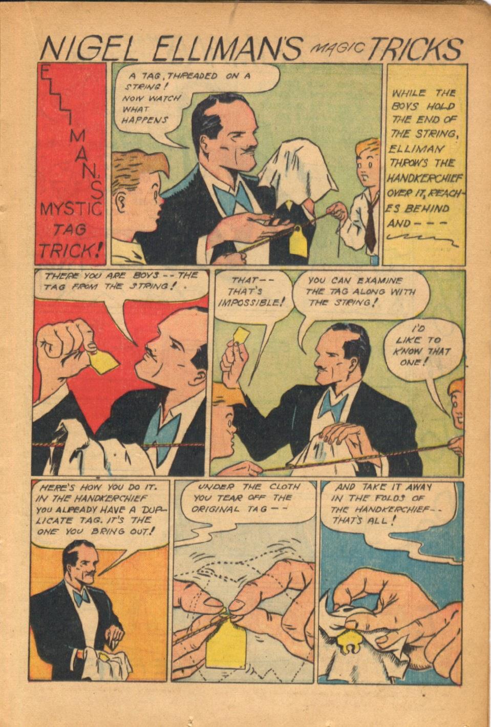 Read online Super-Magician Comics comic -  Issue #54 - 22