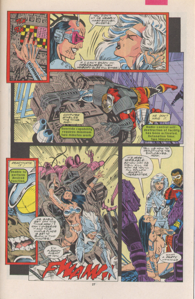 Read online Silver Sable and the Wild Pack comic -  Issue #7 - 19