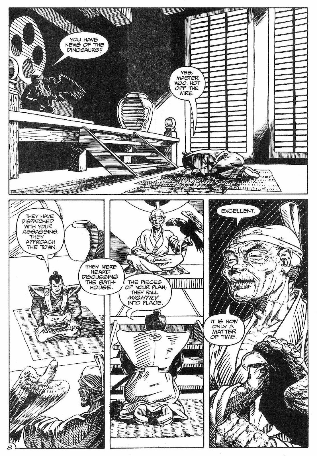 Dinosaurs For Hire (1988) issue 8 - Page 10