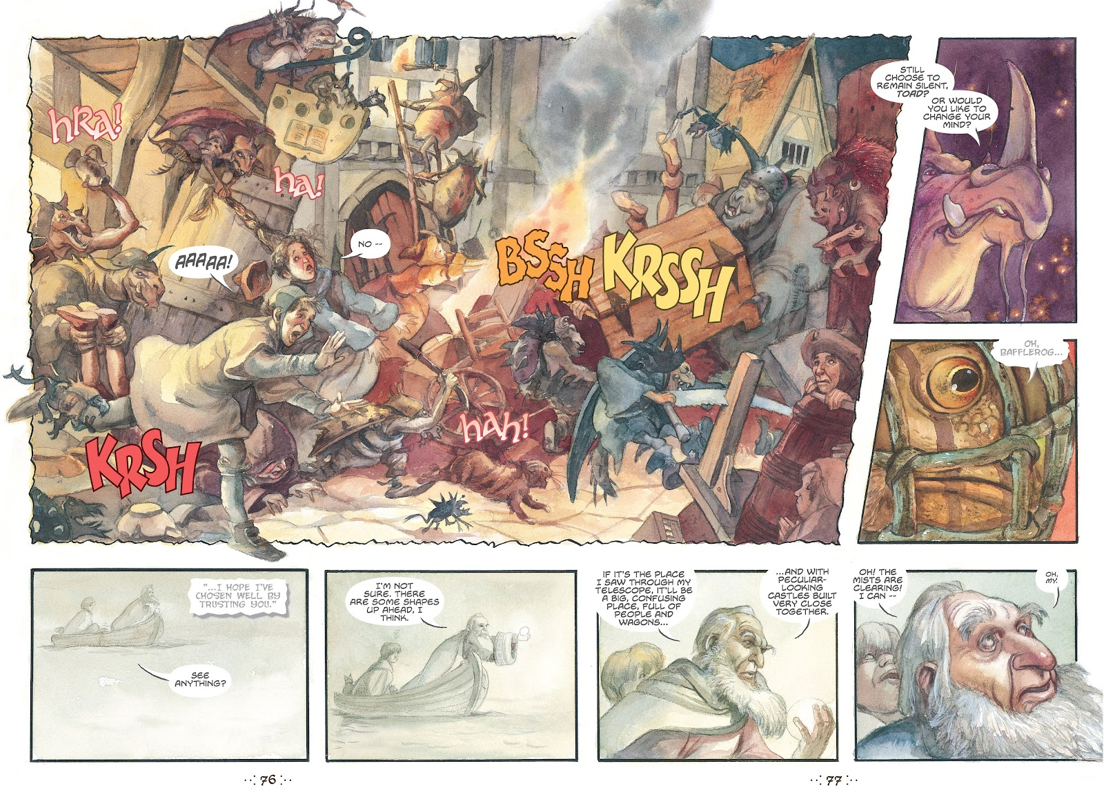 Read online The Wizard's Tale comic -  Issue # TPB - 73