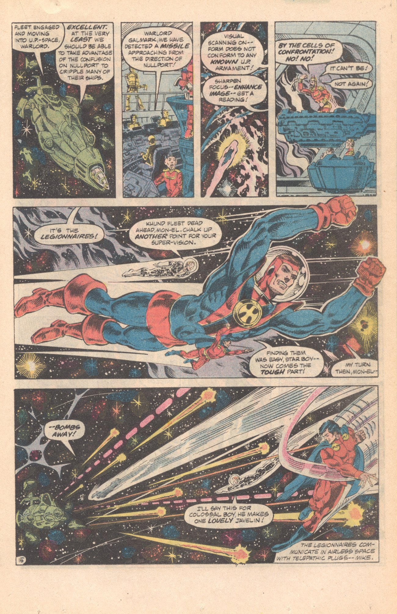 Legion of Super-Heroes (1980) 285 Page 15