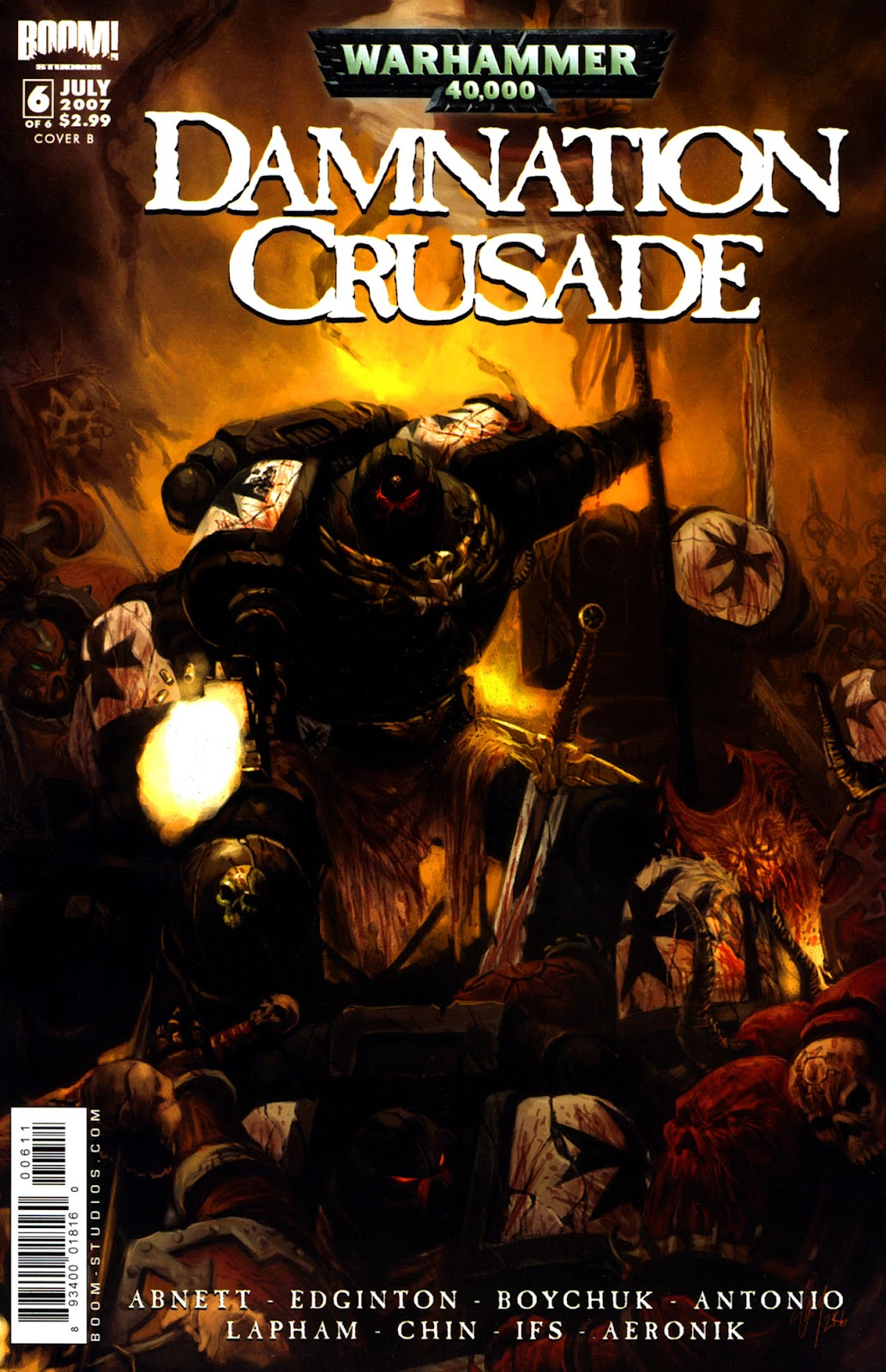 Warhammer 40,000: Damnation Crusade issue 6 - Page 1
