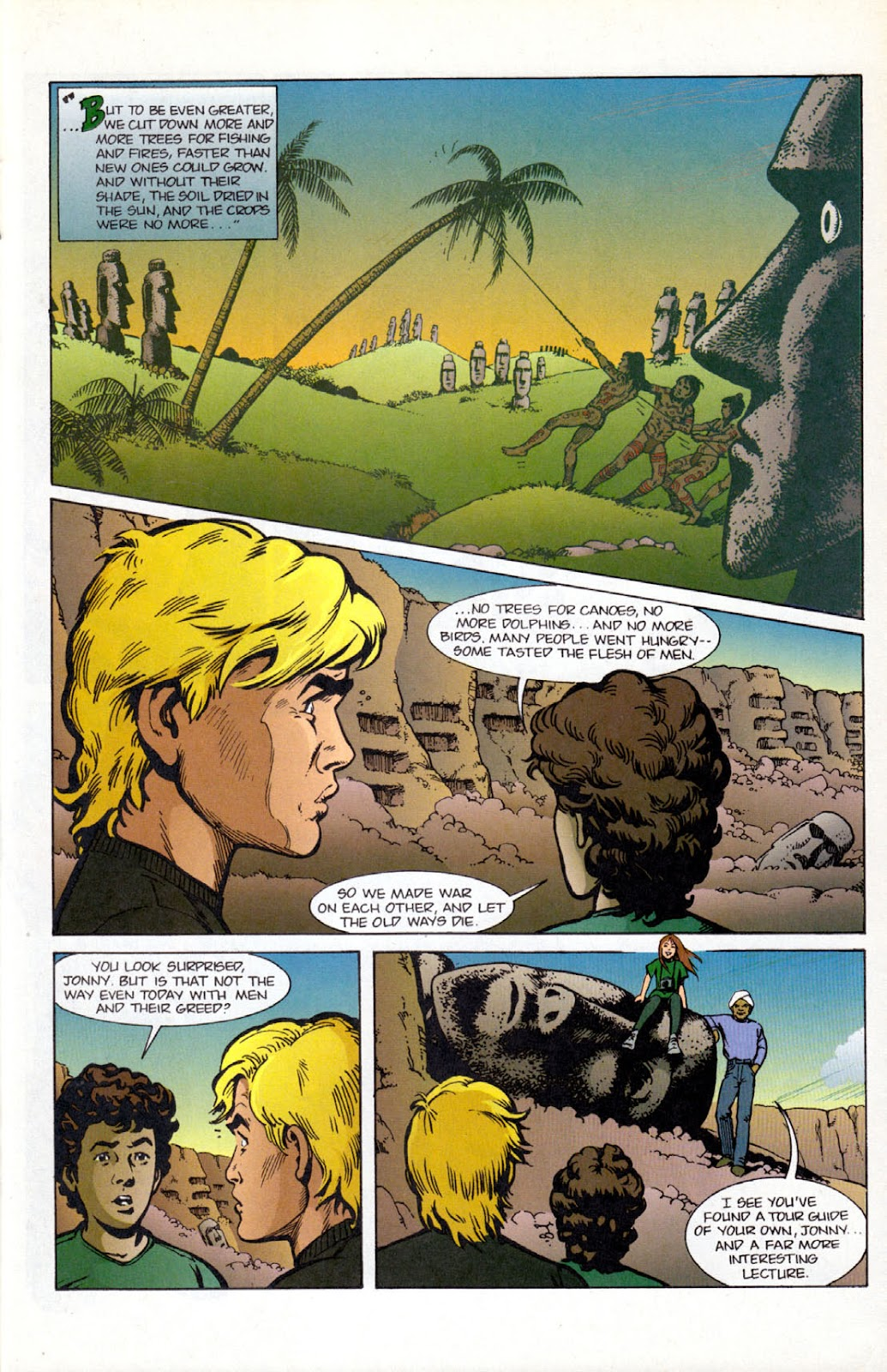 Read online The Real Adventures of Jonny Quest comic -  Issue #12 - 23