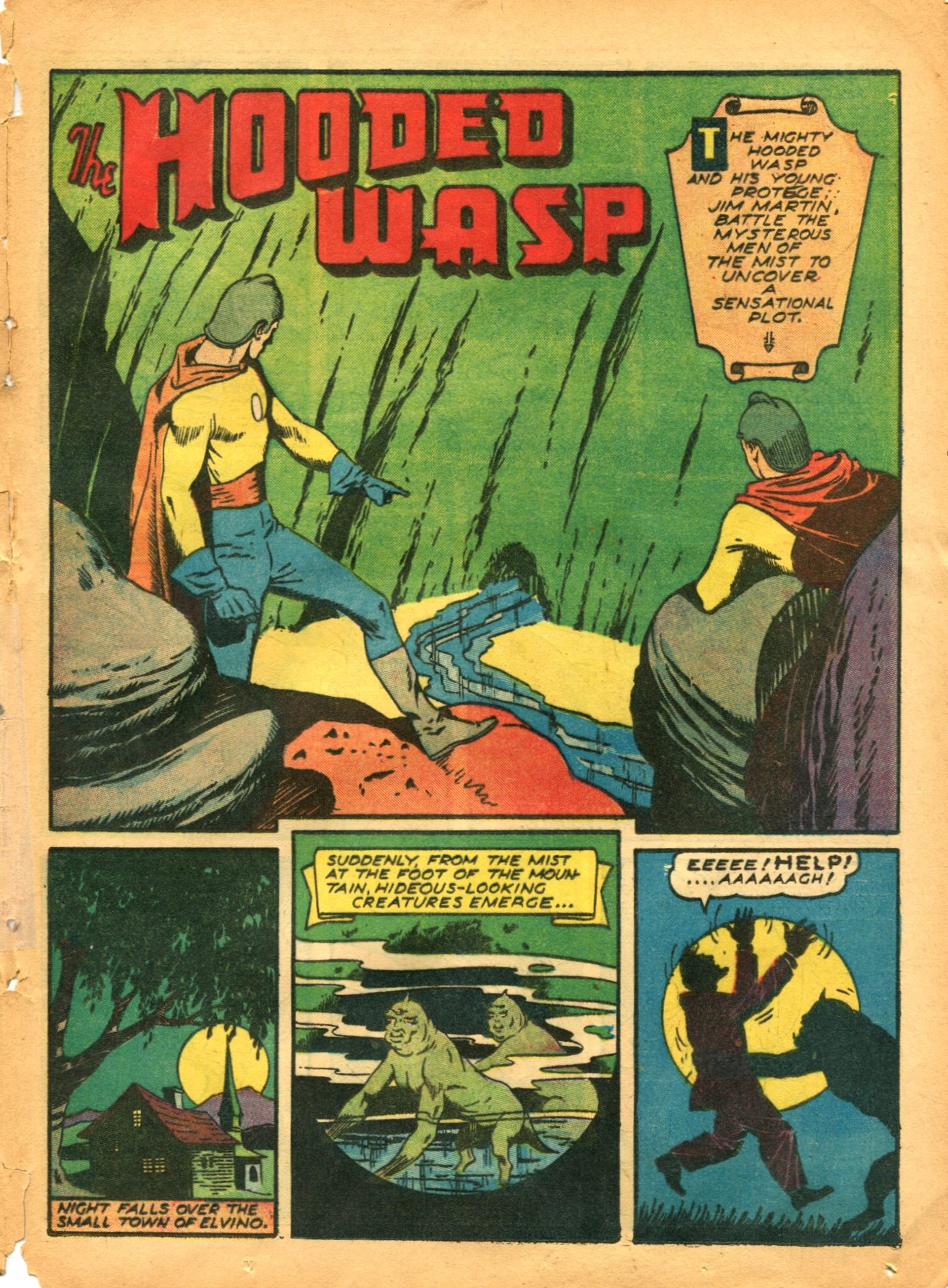 Read online Shadow Comics comic -  Issue #12 - 49