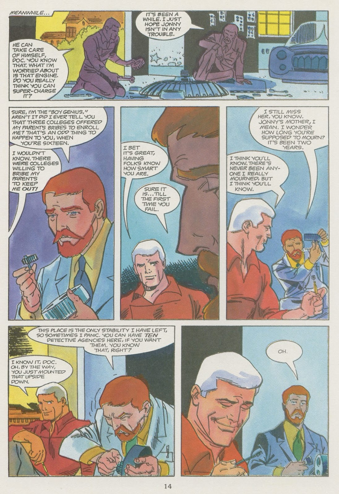 Jonny Quest (1986) issue 19 - Page 16