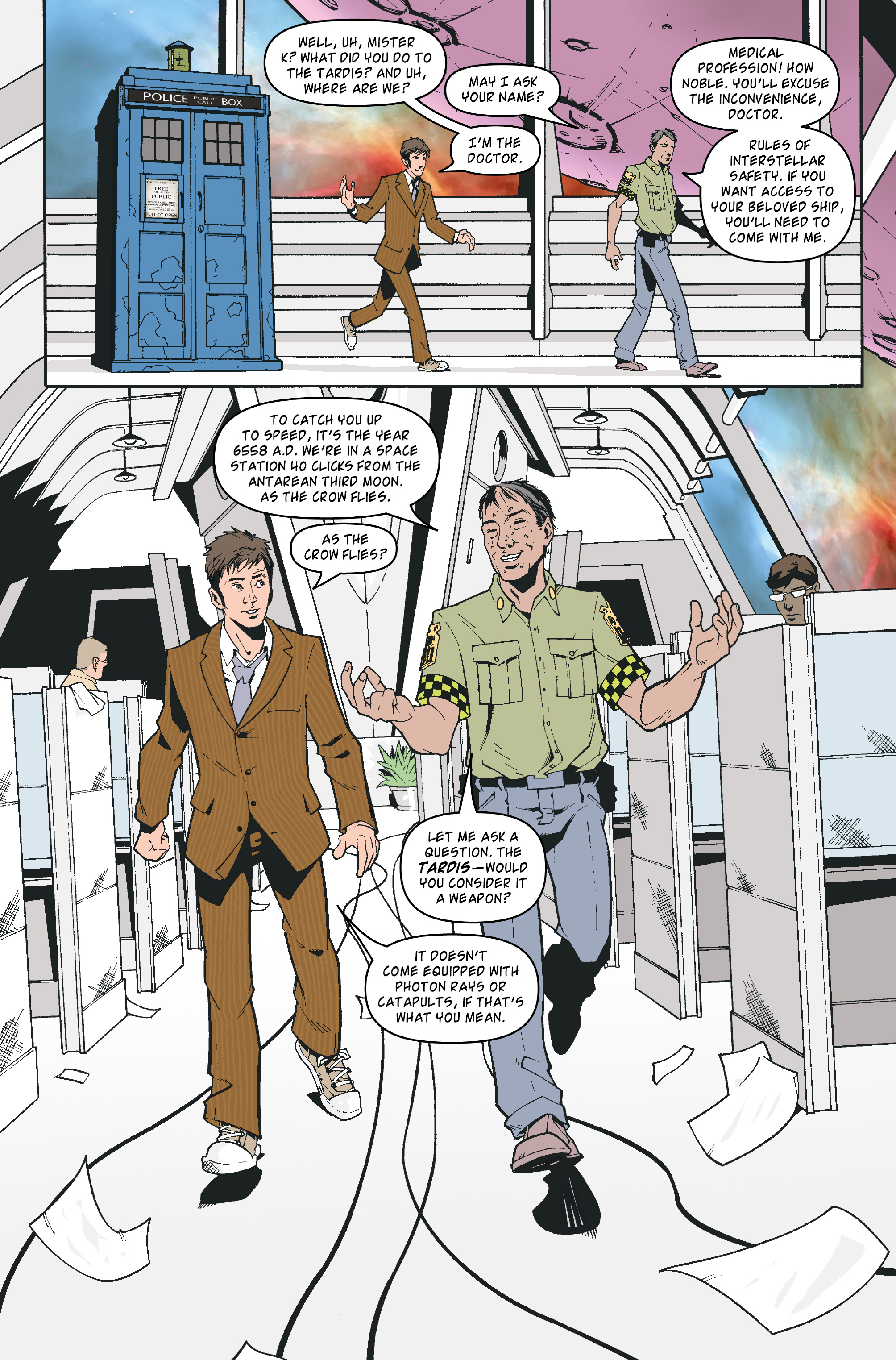 Read online Doctor Who: The Tenth Doctor Archives comic -  Issue #35 - 6