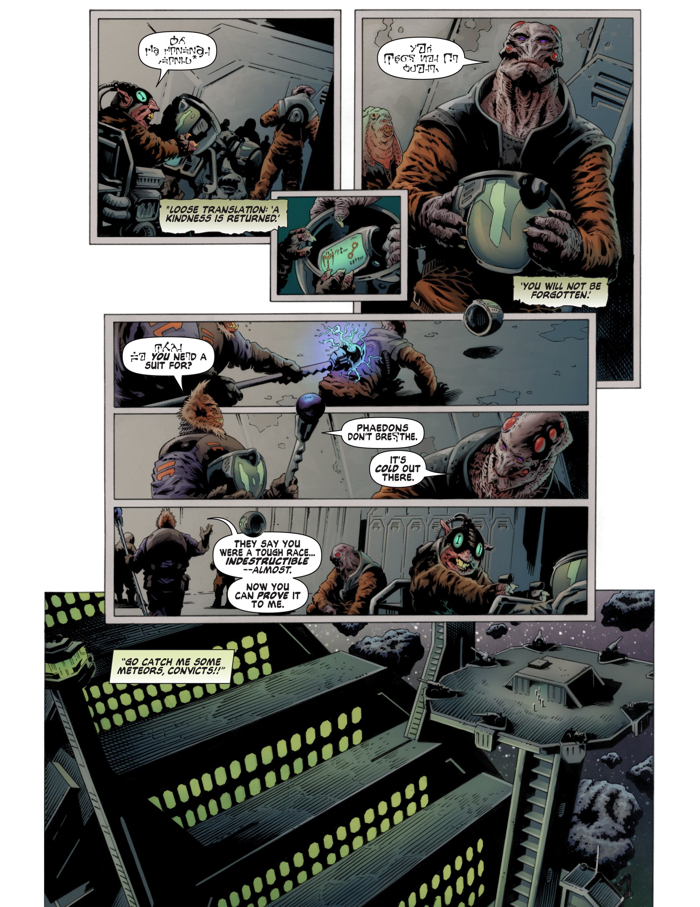 Read online Bad Planet comic -  Issue # TPB - 45